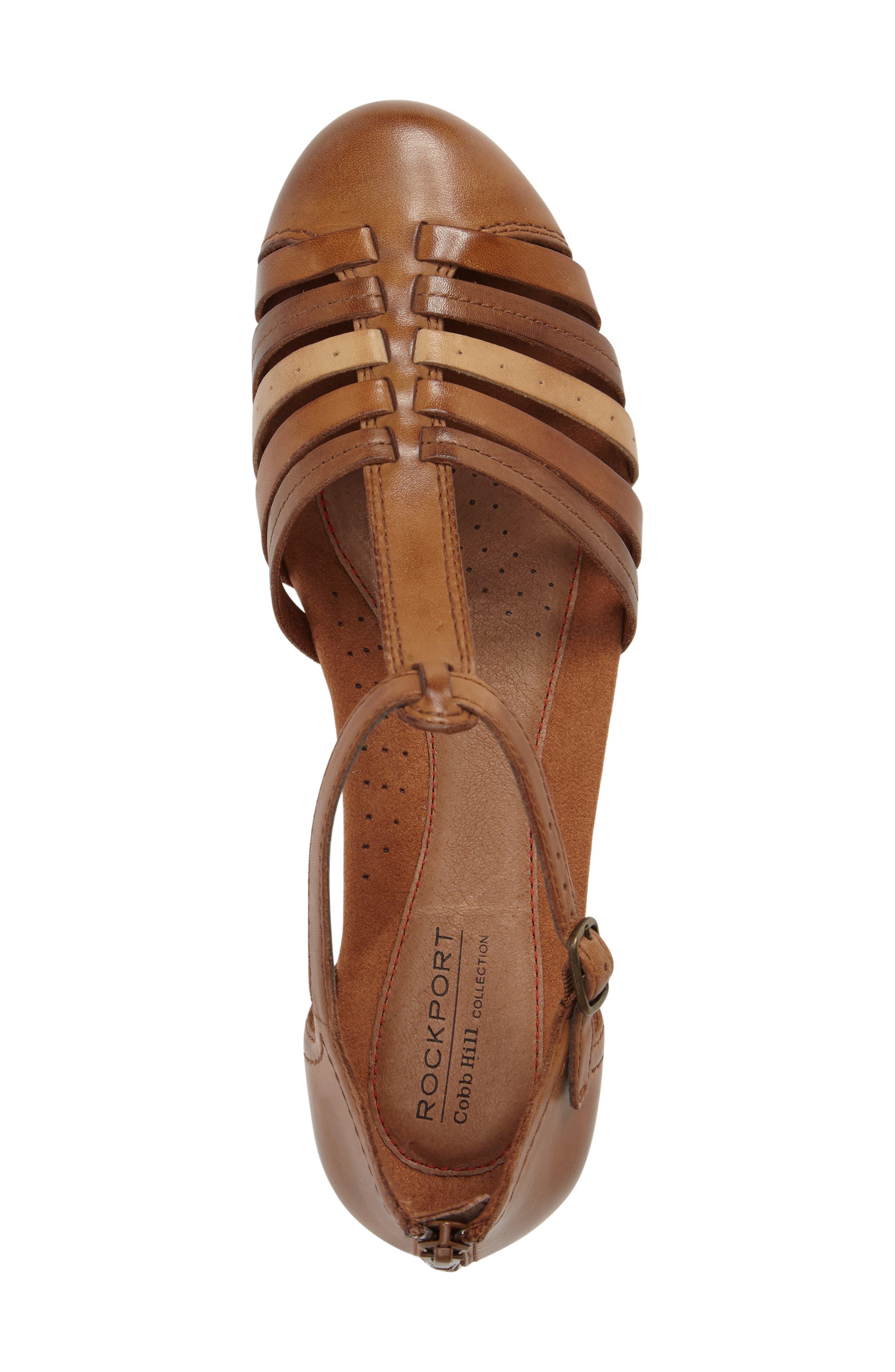Alternate Image 5  - Rockport Cobb Hill Galway T-Strap Sandal (Women)