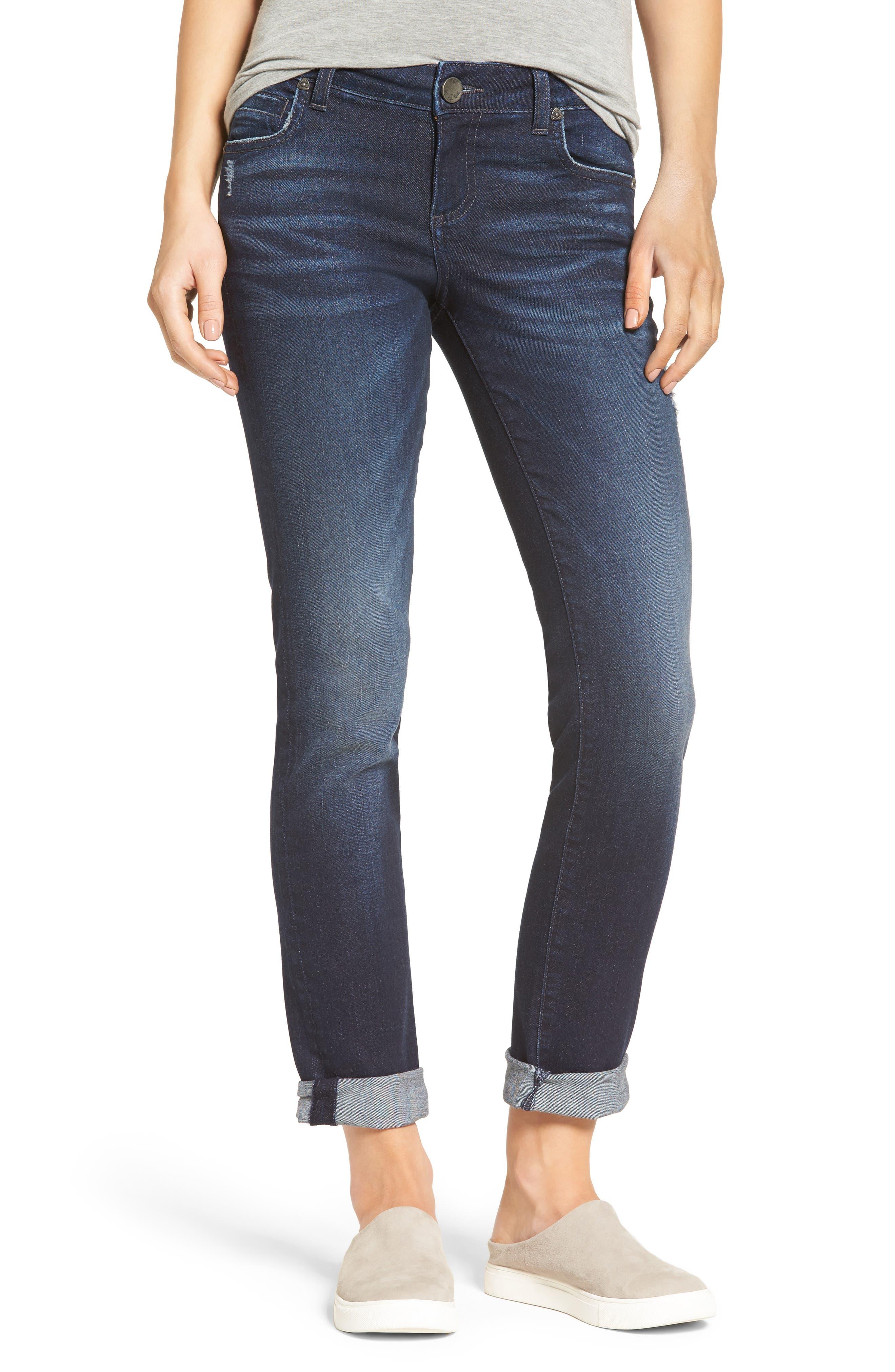 Alternate Image 1 Selected - KUT from the Kloth Catherine Boyfriend Jeans (Regular & Petite) (Vogue)
