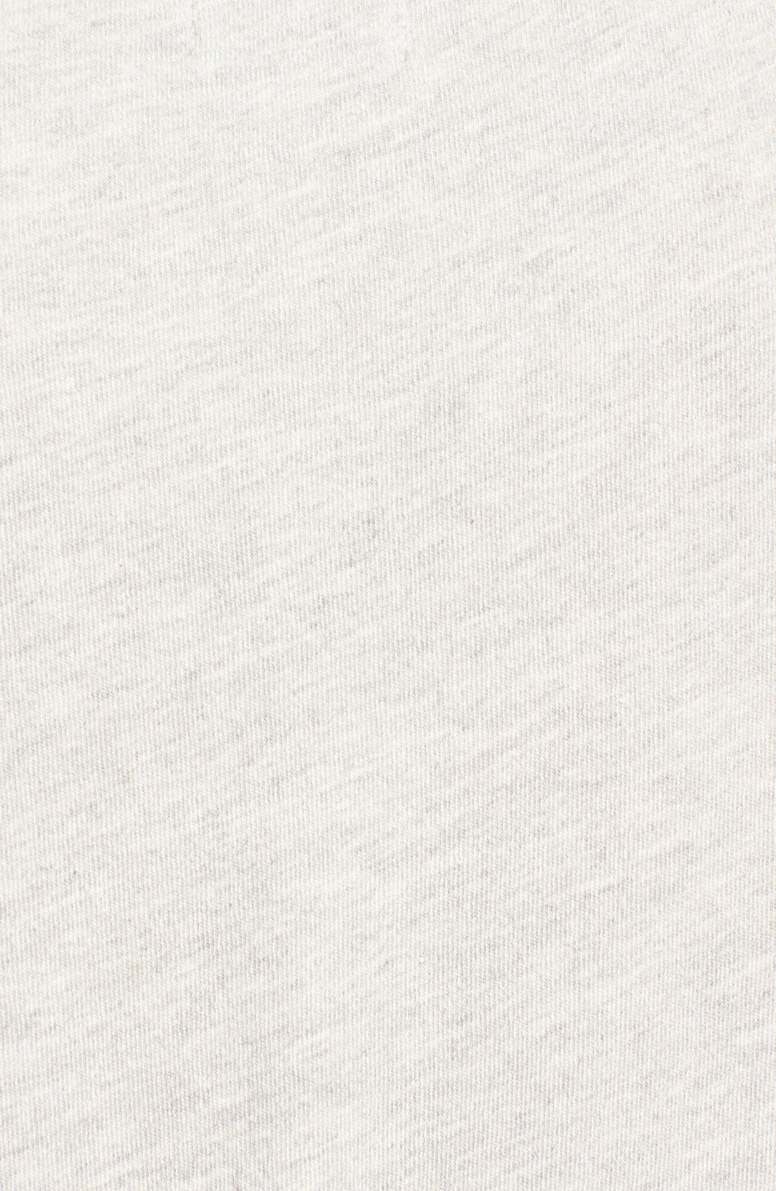 Alternate Image 5  - Pam & Gela 'Annie' Destroyed High/Low Sweatshirt