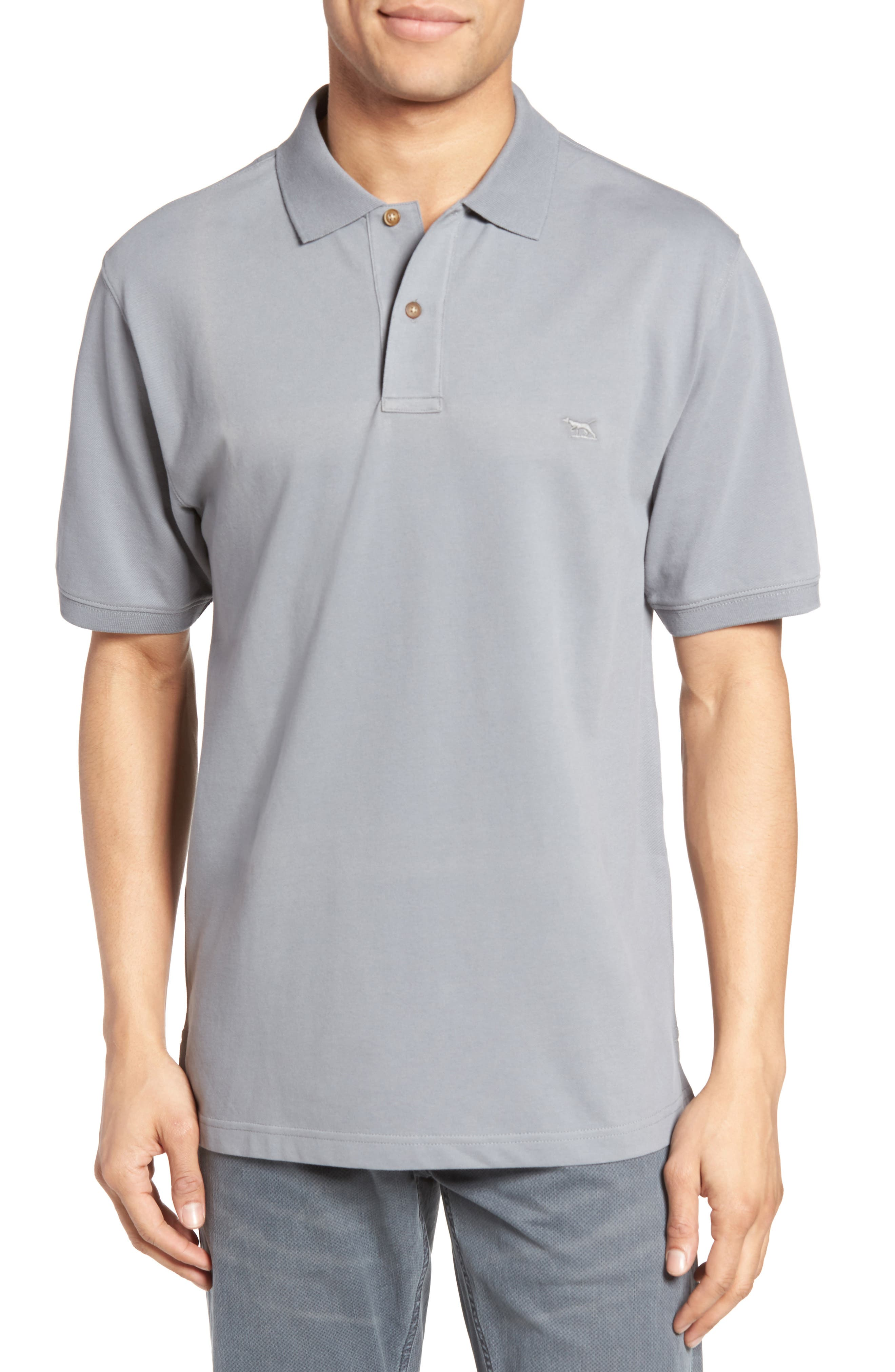 RODD & GUNN Devonport Original Fit Stretch Cotton Piqué Polo