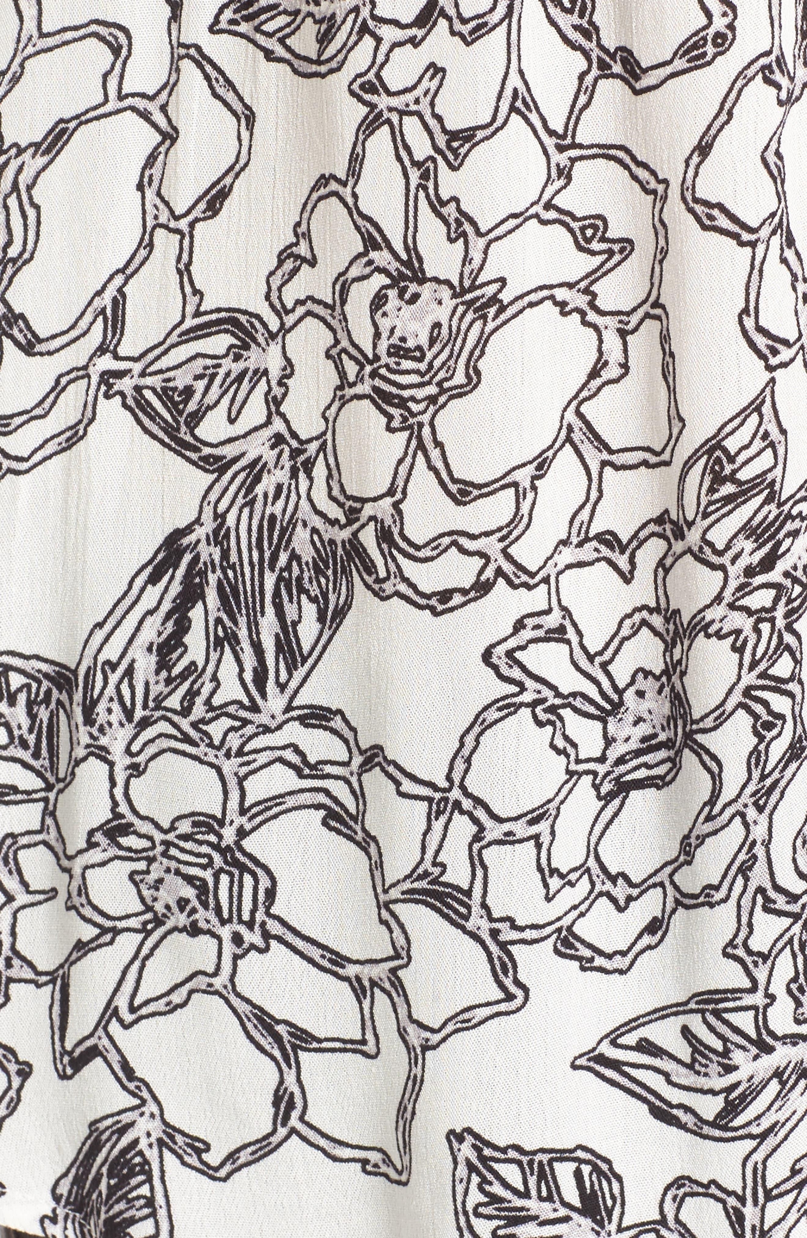 Alternate Image 5  - BP. Print Off the Shoulder Top