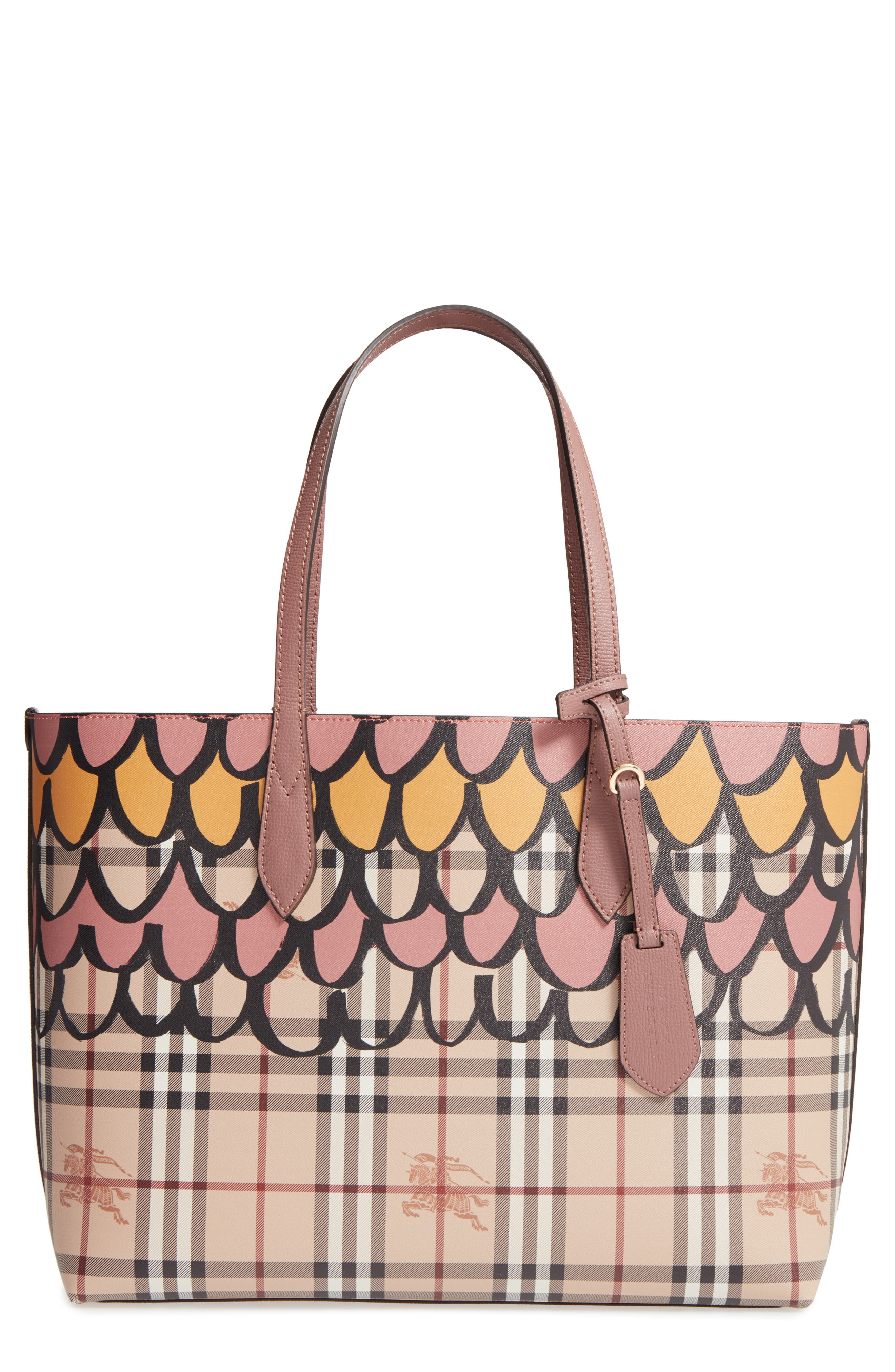 Burberry Medium Lavenby Reversible Tote