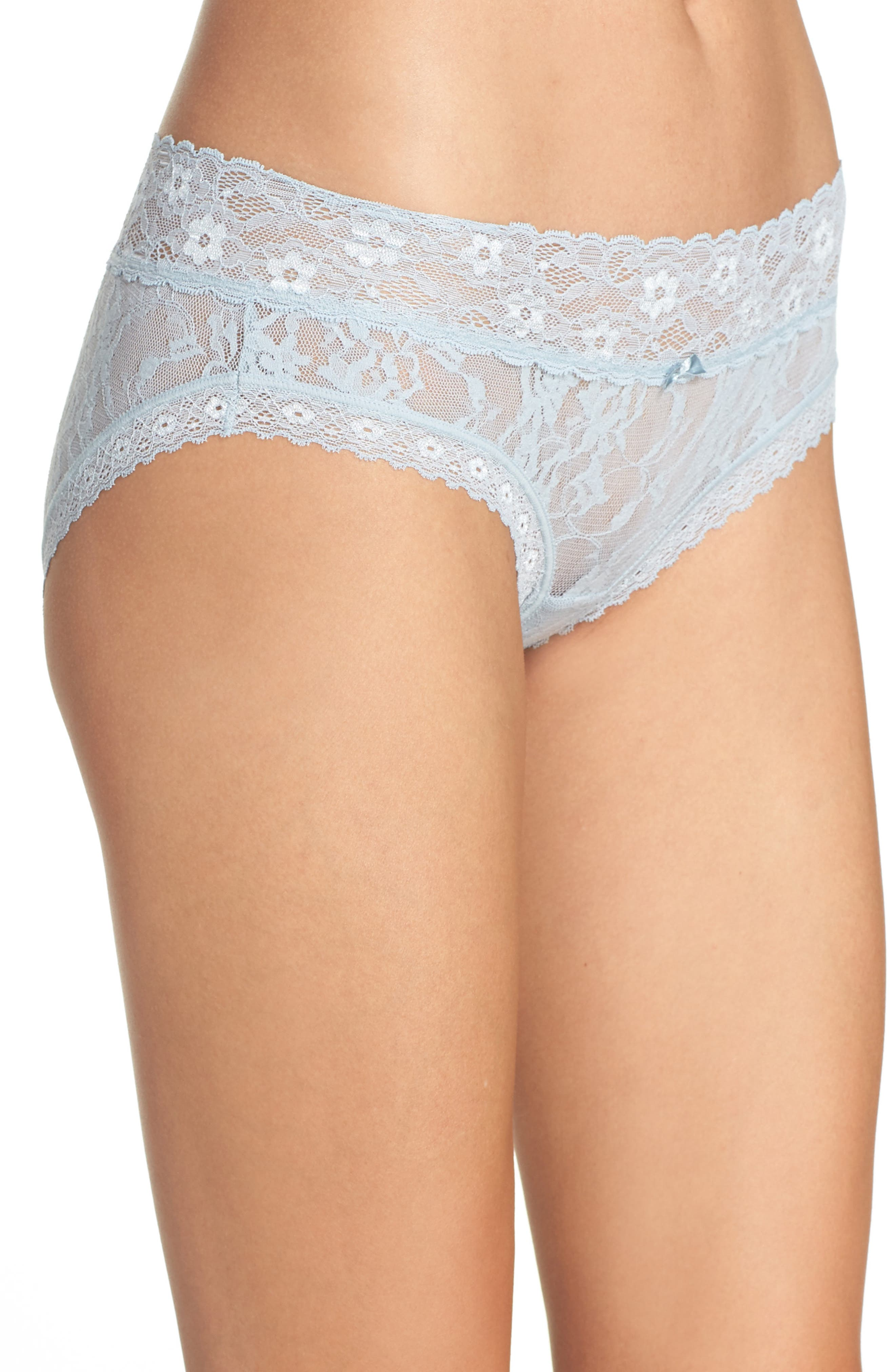Alternate Image 3  - DKNY 'Signature Lace' Bikini (3 for $30)