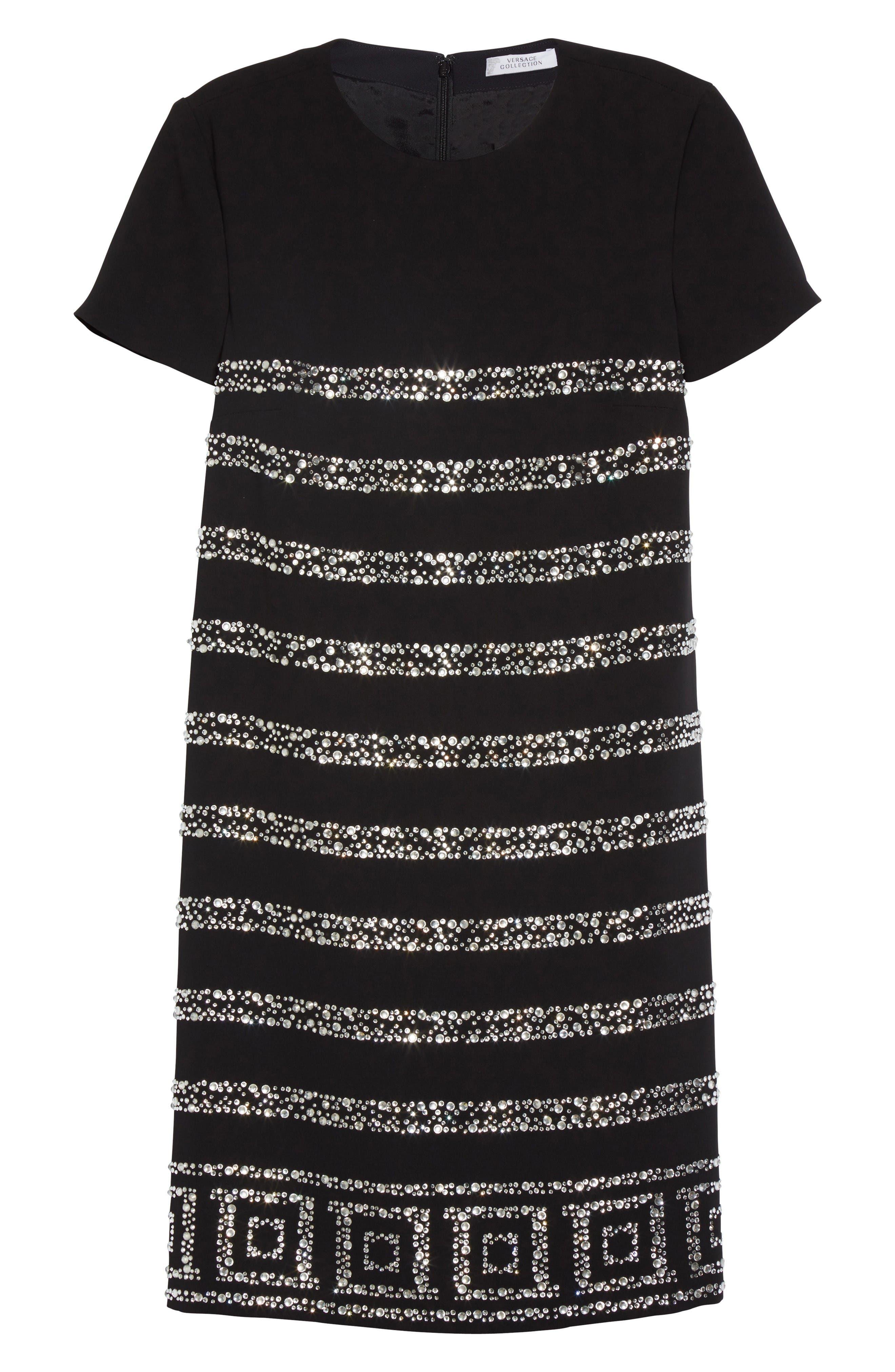 Rhinestone Dress,                             Alternate thumbnail 4, color,                             Abate