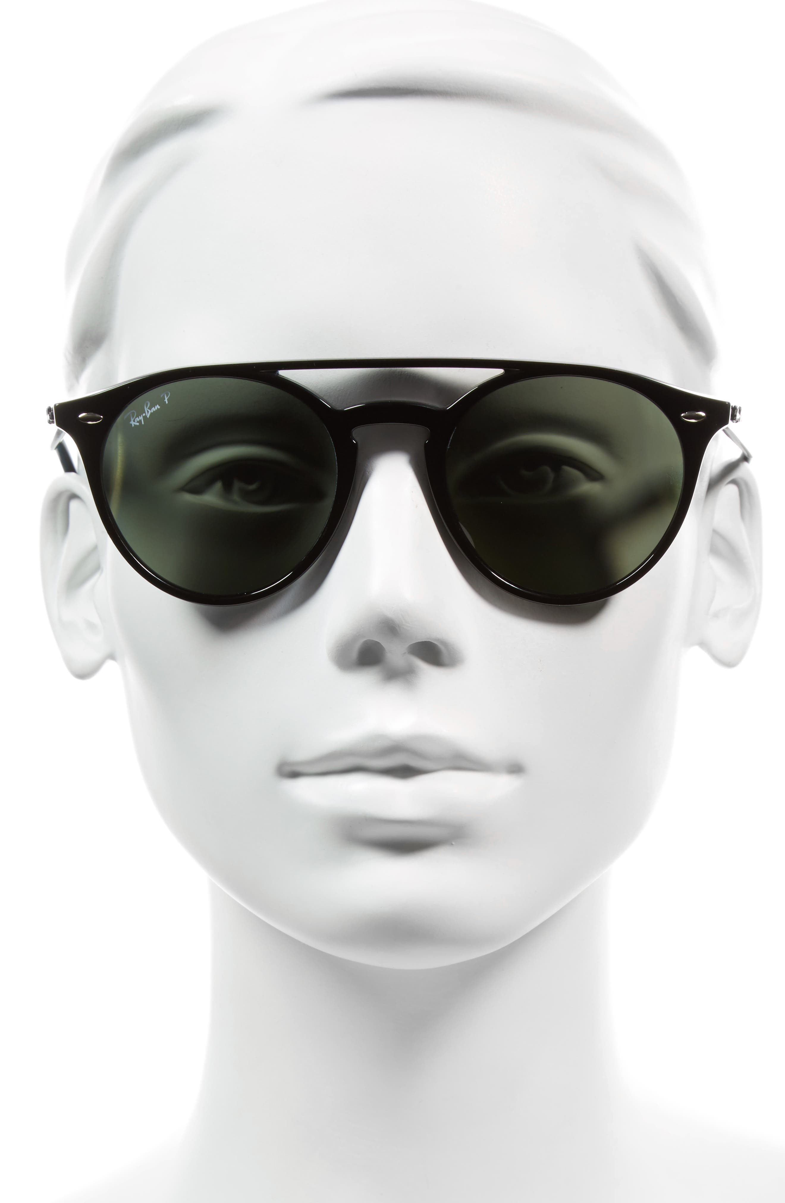 Alternate Image 2  - Ray-Ban 51mm Polarized Round Sunglasses
