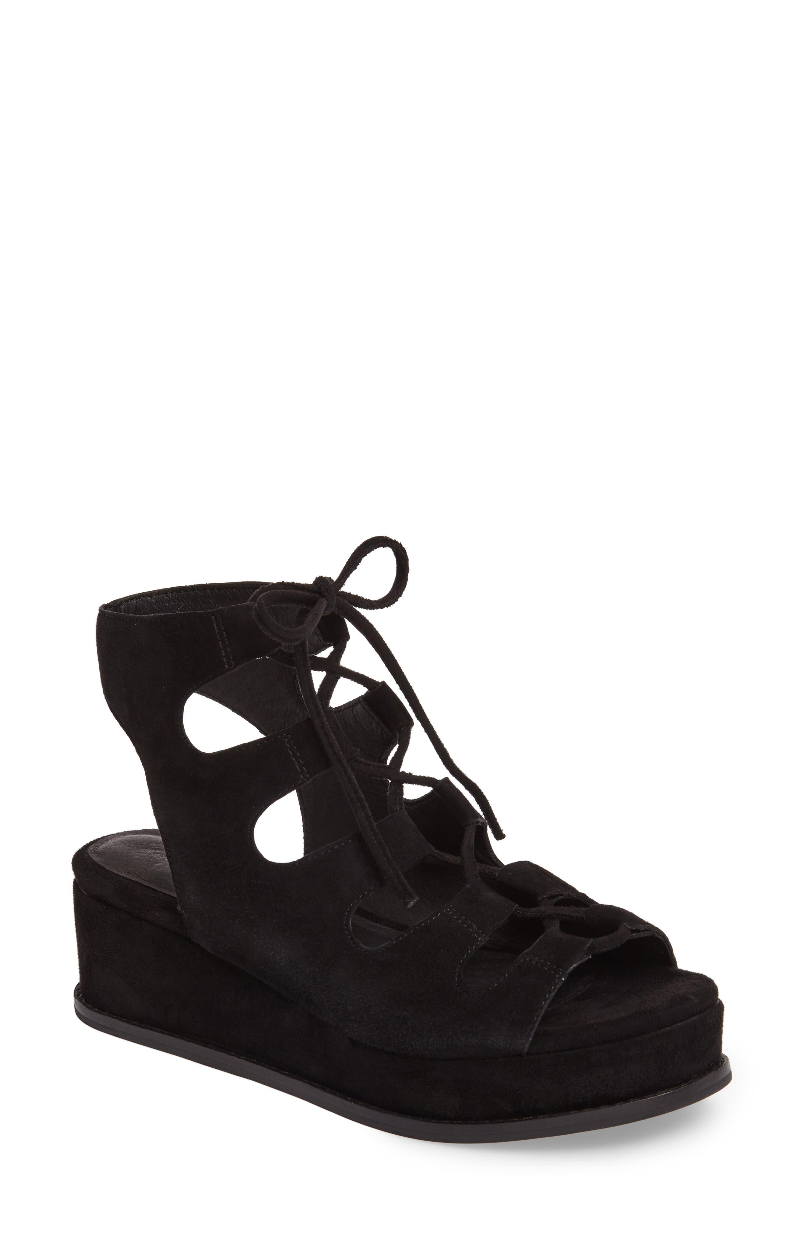Jeffrey Campbell Ximeno Platform Gladiator Sandal (Women)