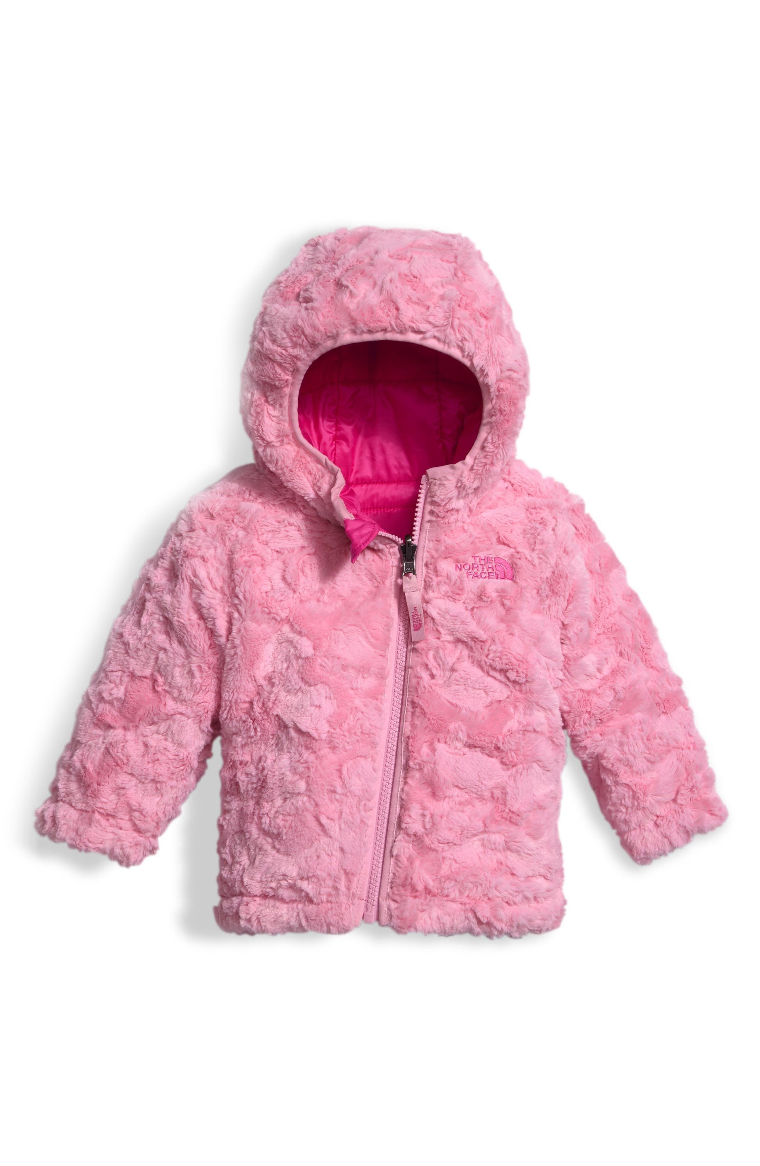 Alternate Image 2  - The North Face 'Mossbud' Reversible Water Repellent Jacket (Baby Girls)