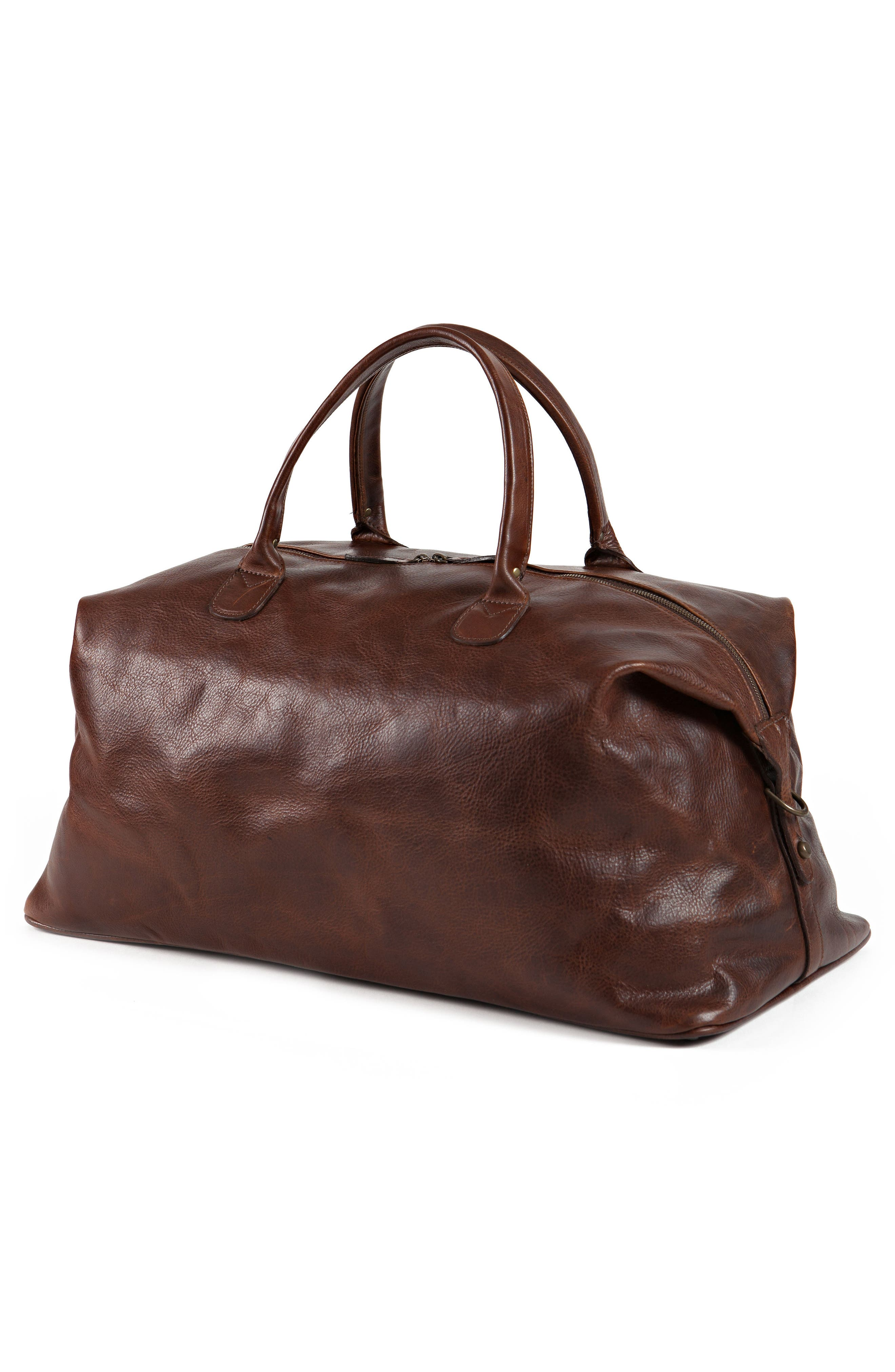 Alternate Image 5  - Moore & Giles Benedict Leather Duffel Bag