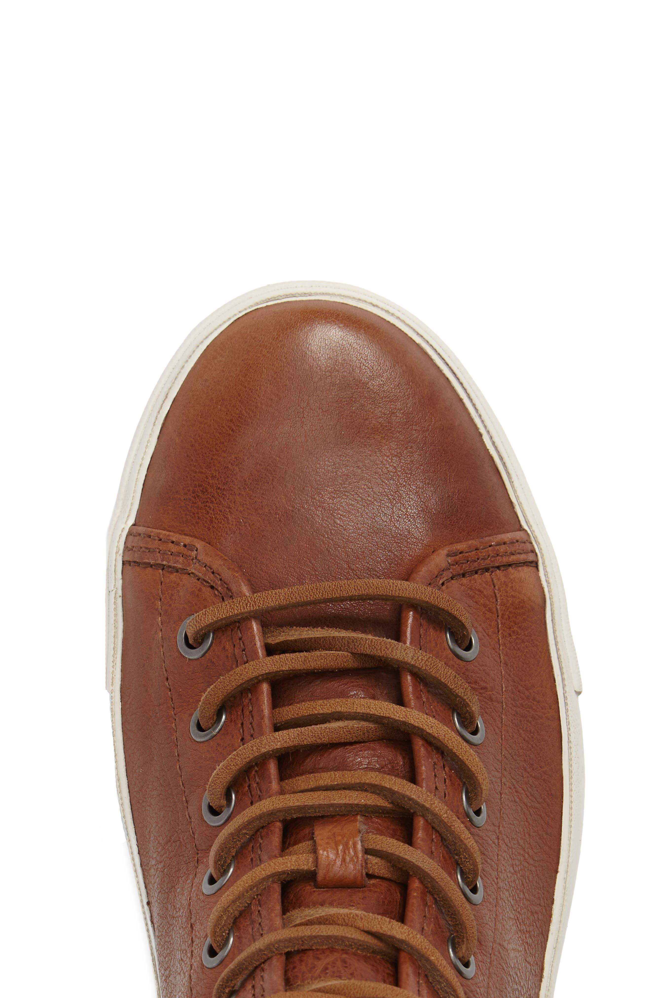 Brett High Top Sneaker,                             Alternate thumbnail 4, color,                             Copper