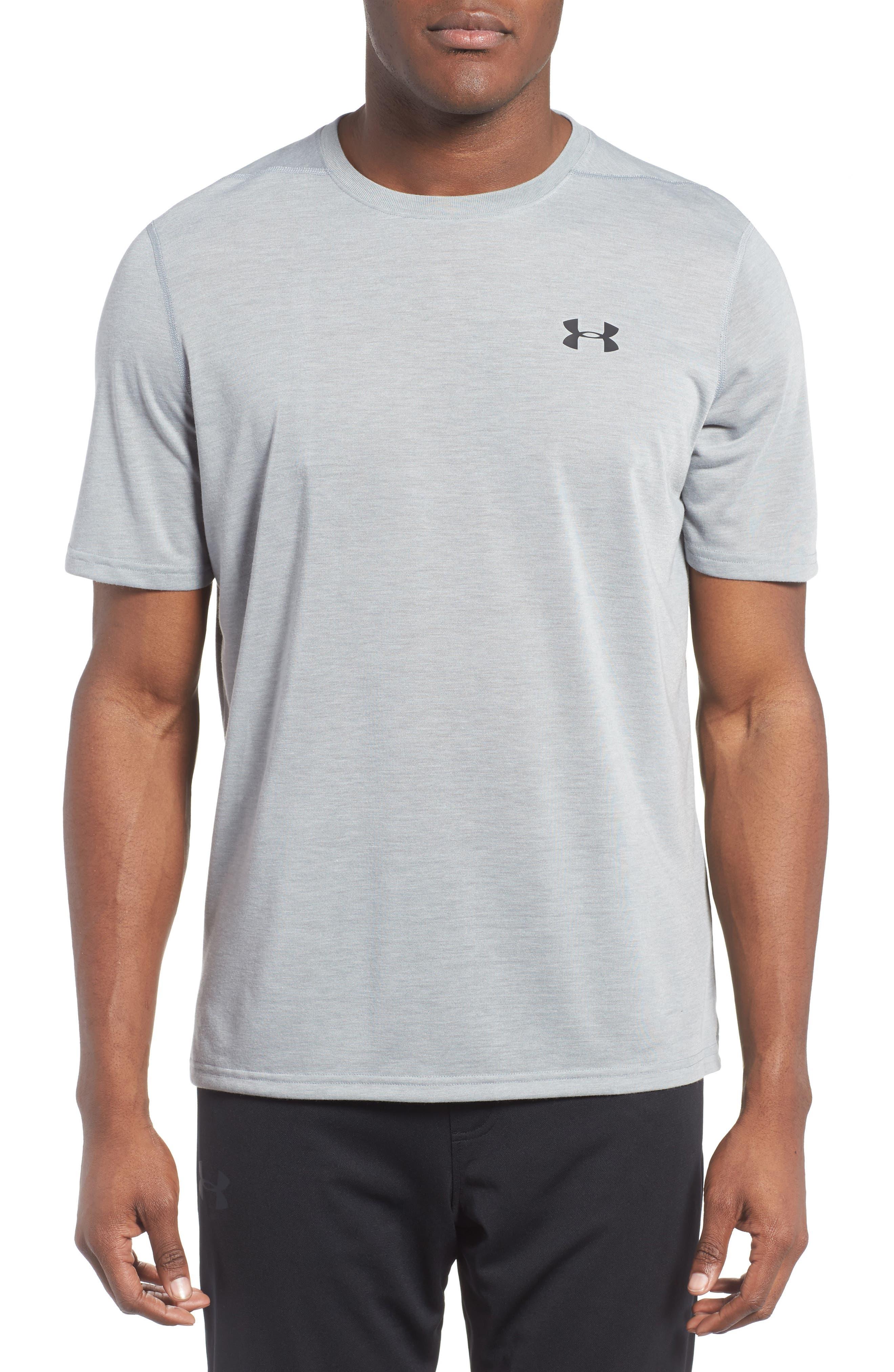 white under armour shirt