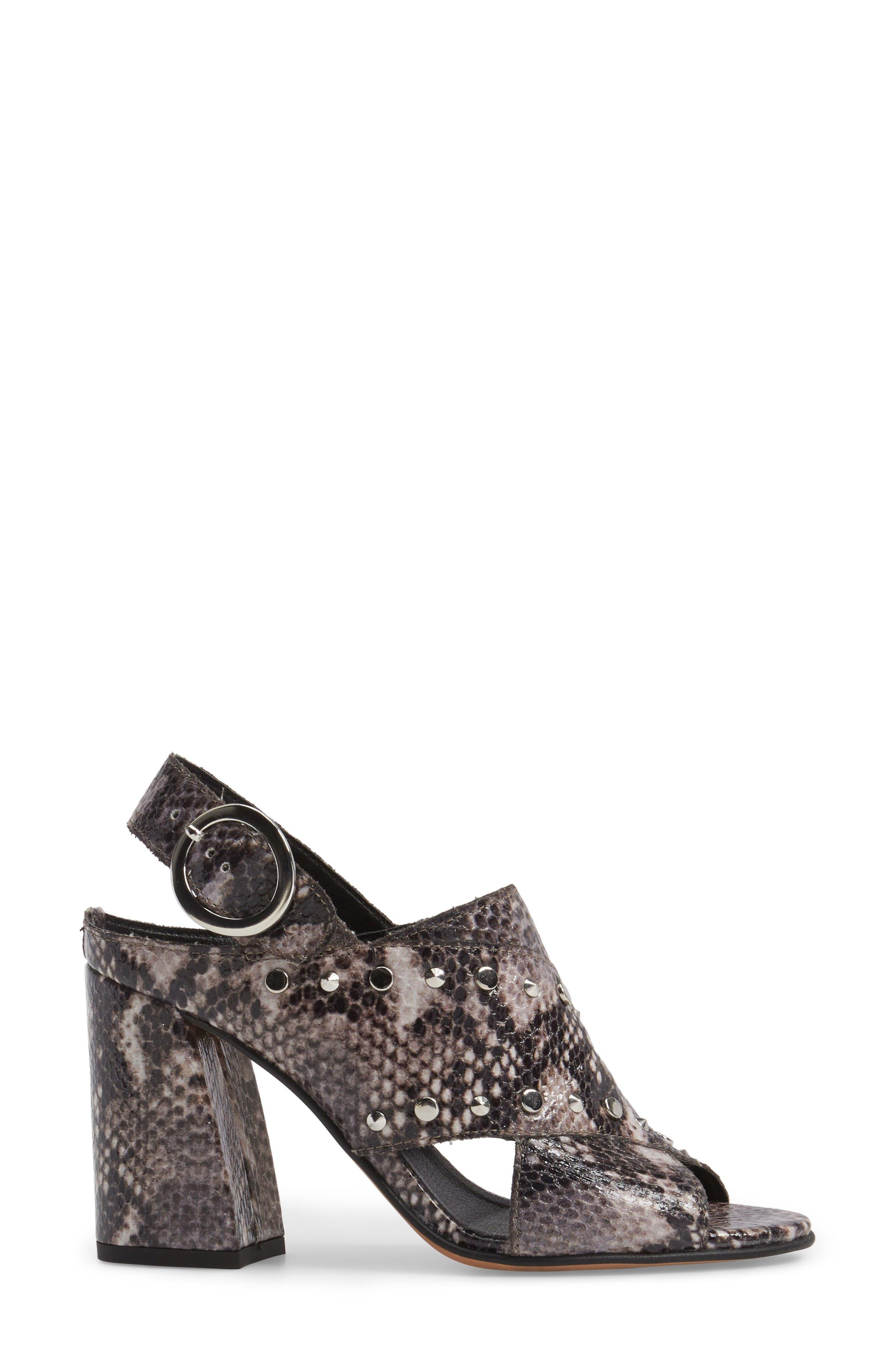 Alternate Image 3  - Topshop Nixie Block Heel Sandal (Women)