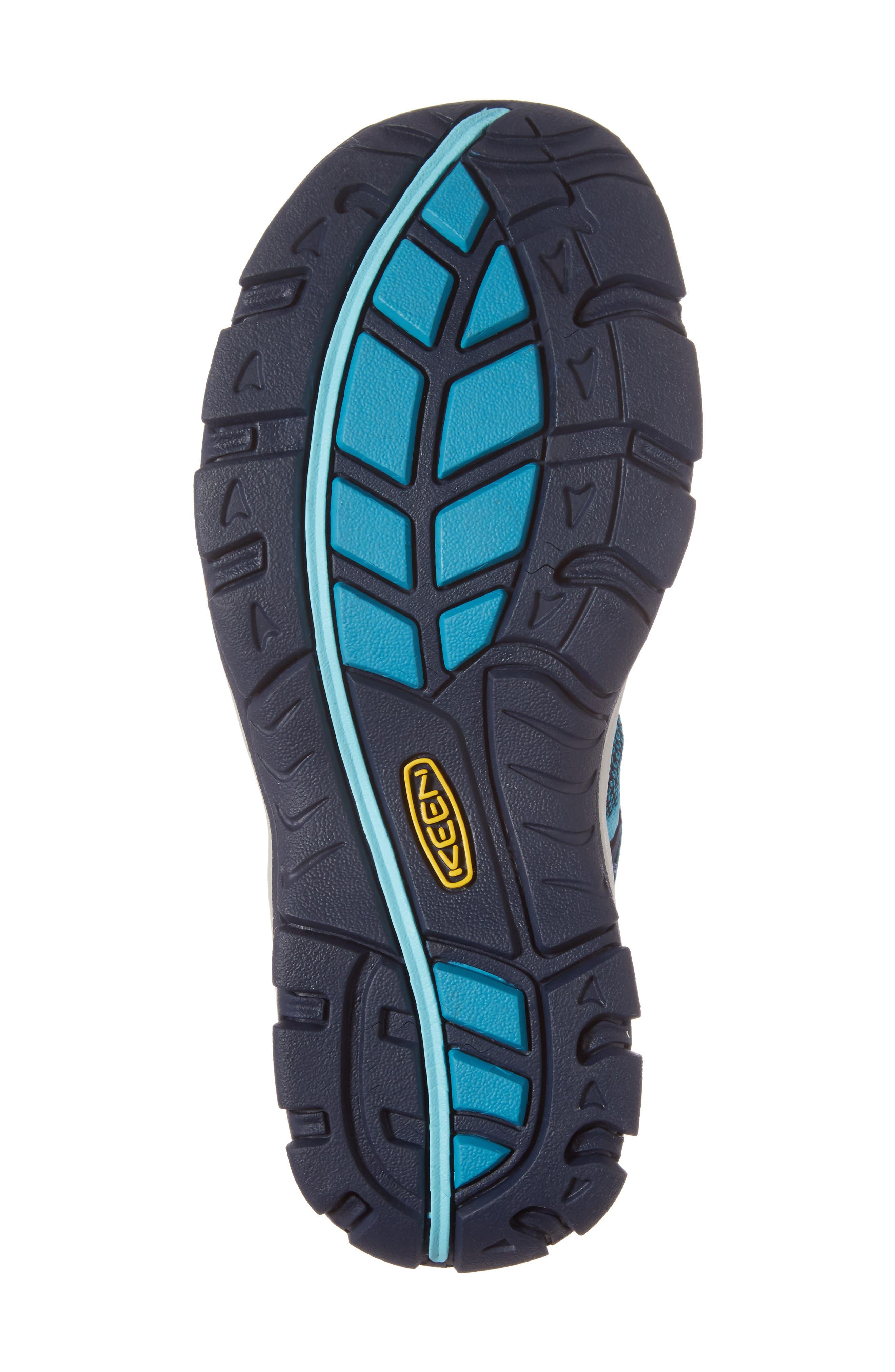 McKenzie II Waterproof Sneaker,                             Alternate thumbnail 6, color,                             Dress Blues/ Algiers Fabric