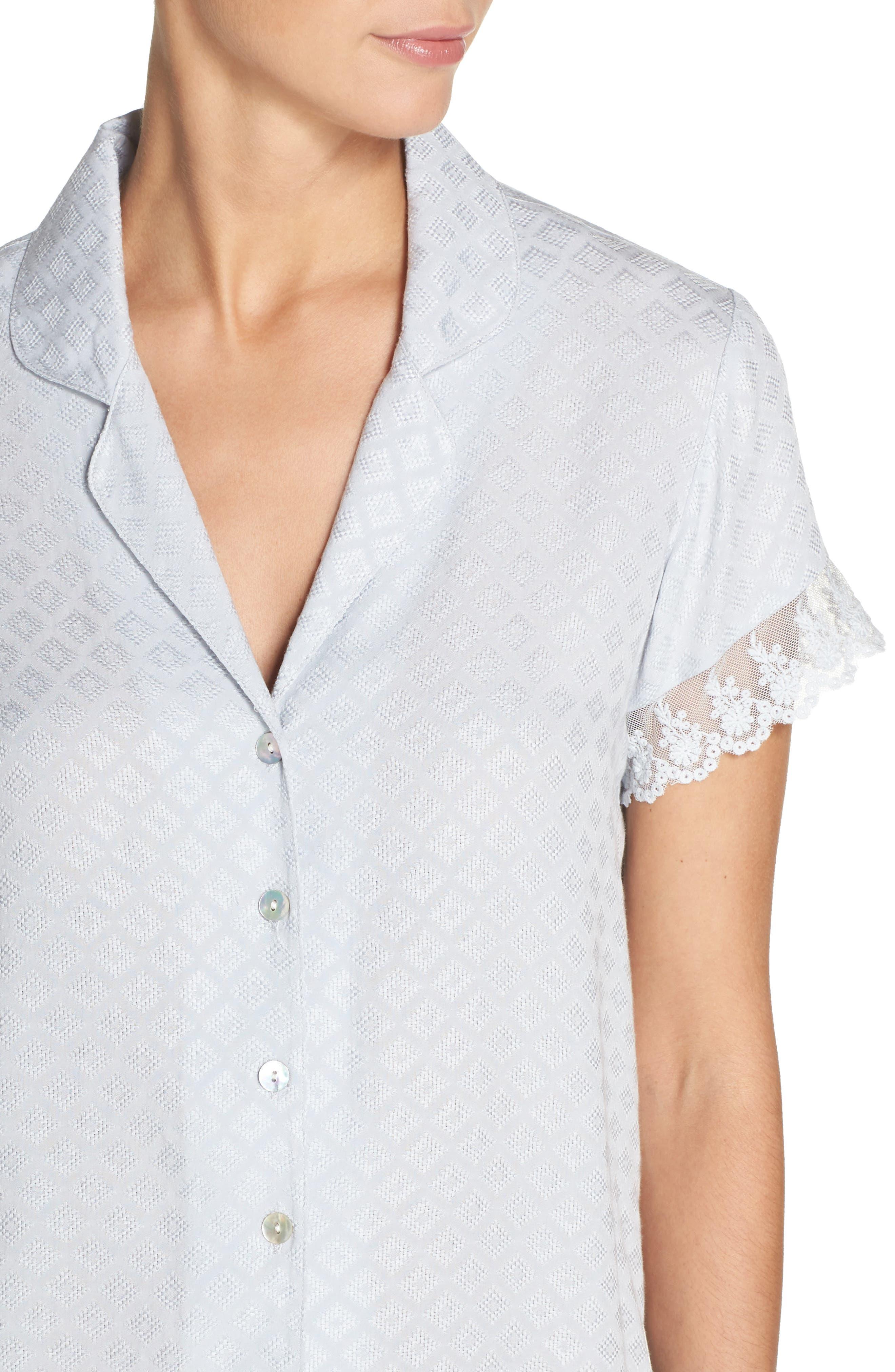 Alternate Image 4  - Flora Nikrooz Laurel Short Pajamas