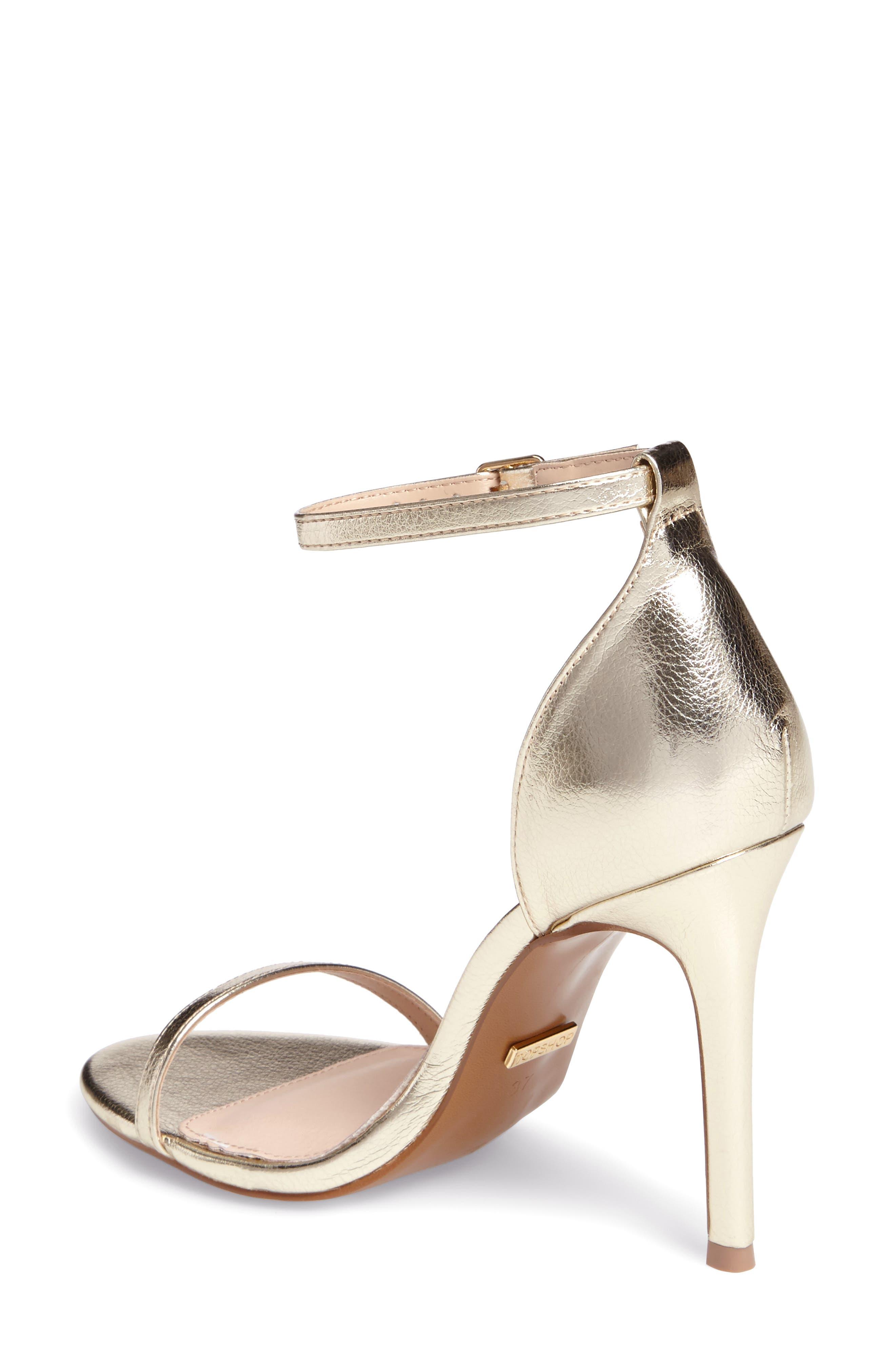 Alternate Image 2  - Topshop Rosalie Ankle Strap Sandal (Women)