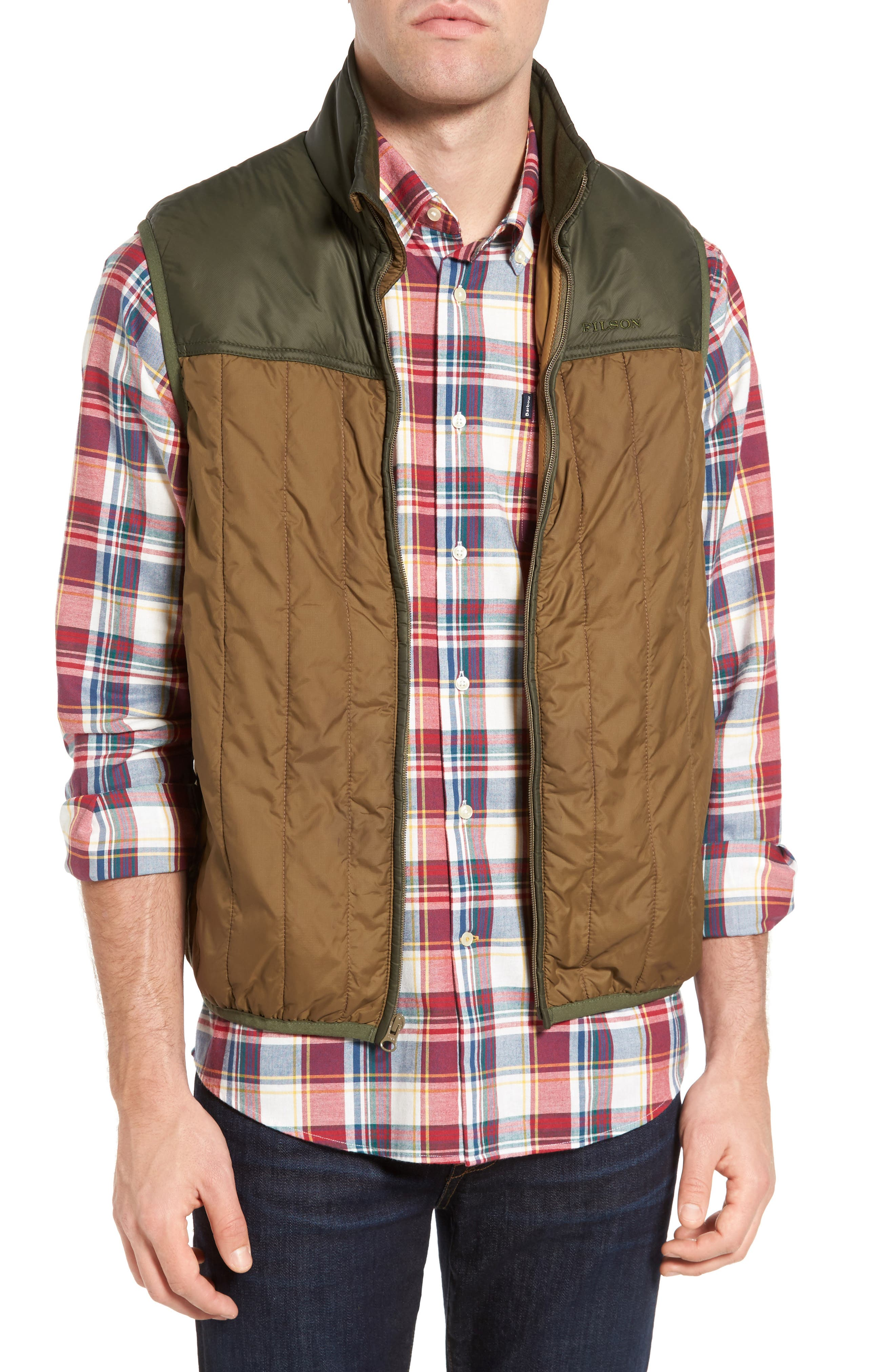 Ultra Light Vest,                             Main thumbnail 1, color,                             Field Olive