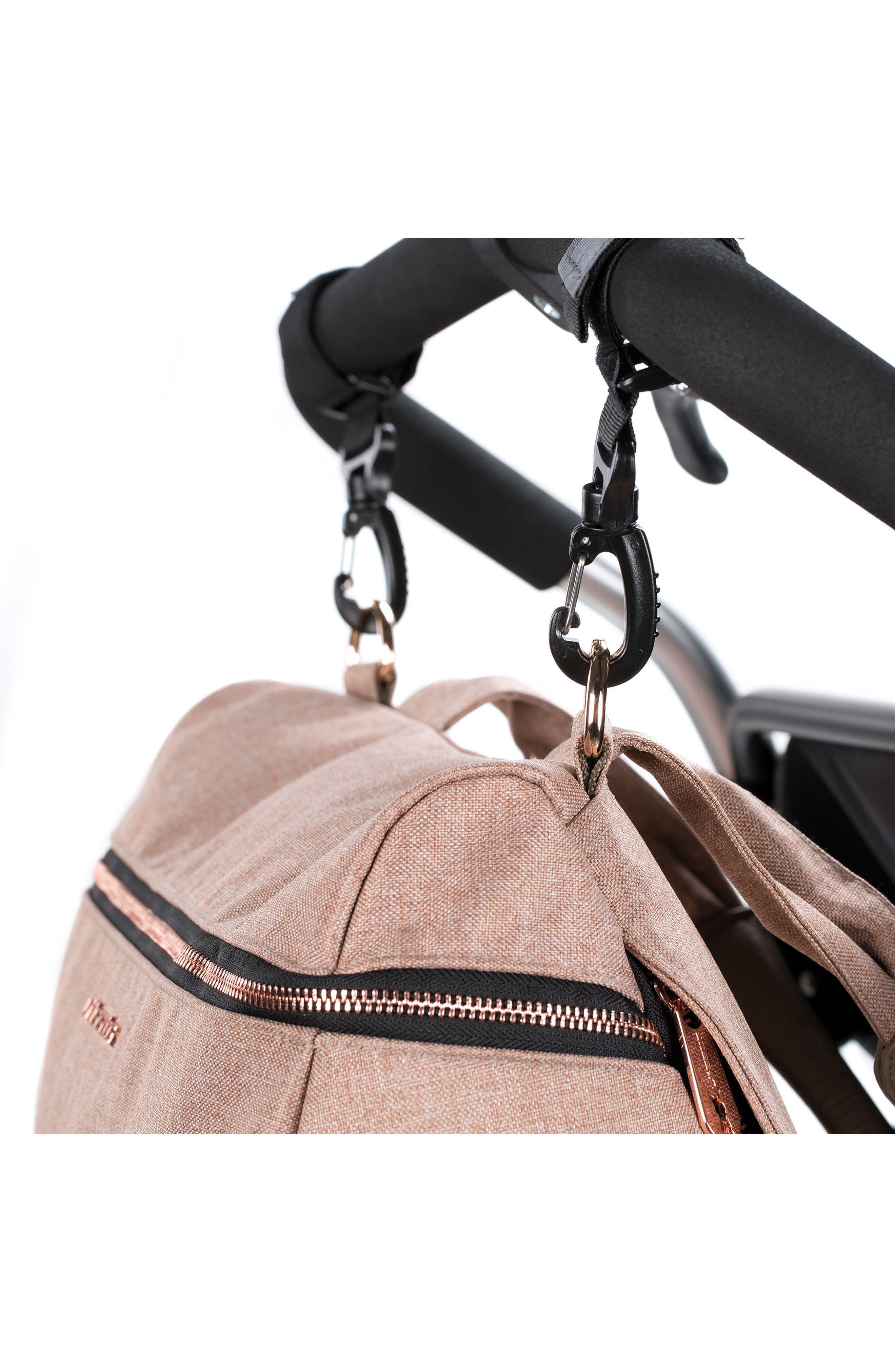 Alternate Image 9  - Lässig Glam Rosie Diaper Bag
