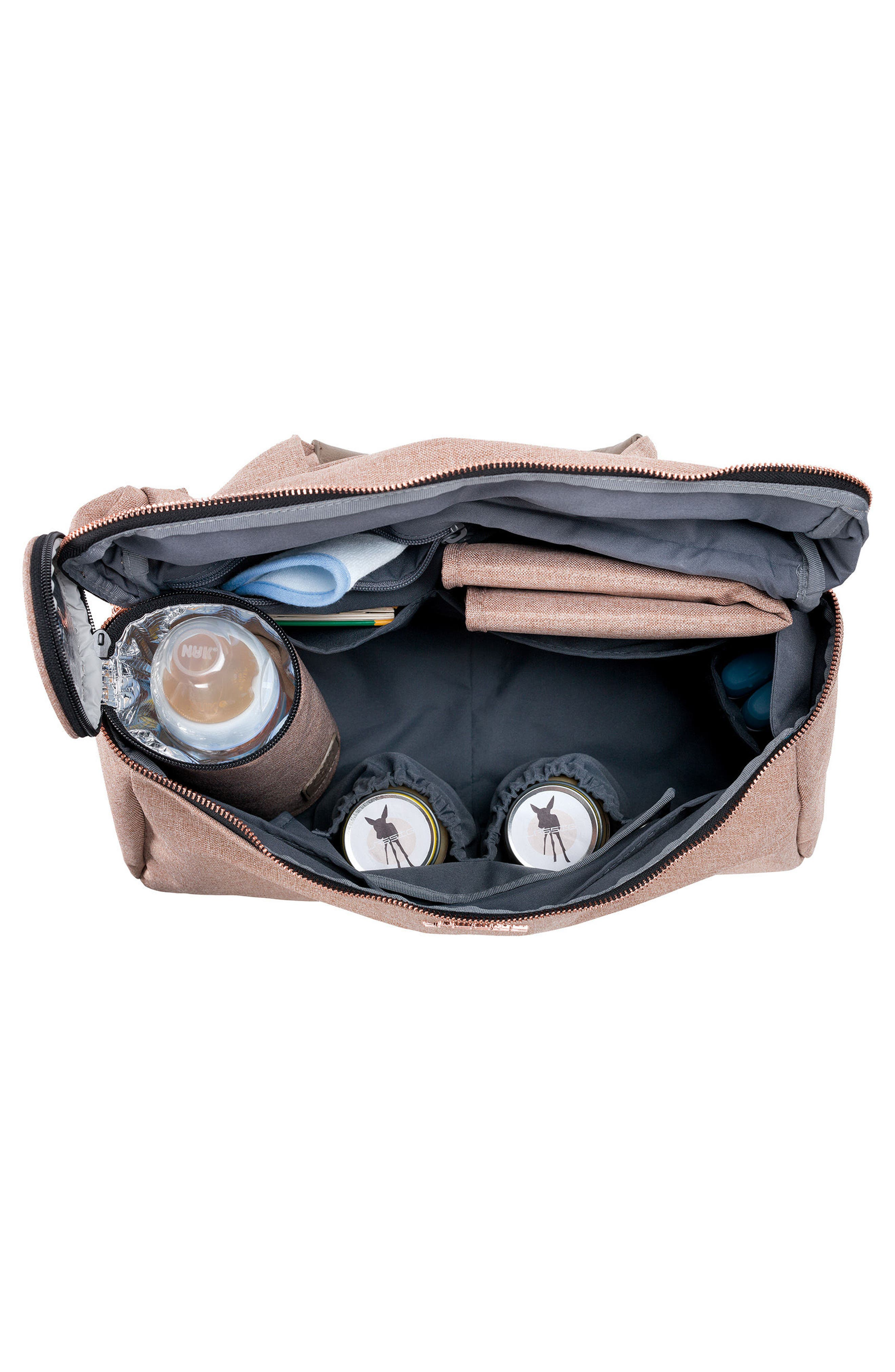 Alternate Image 3  - Lässig Glam Rosie Diaper Bag