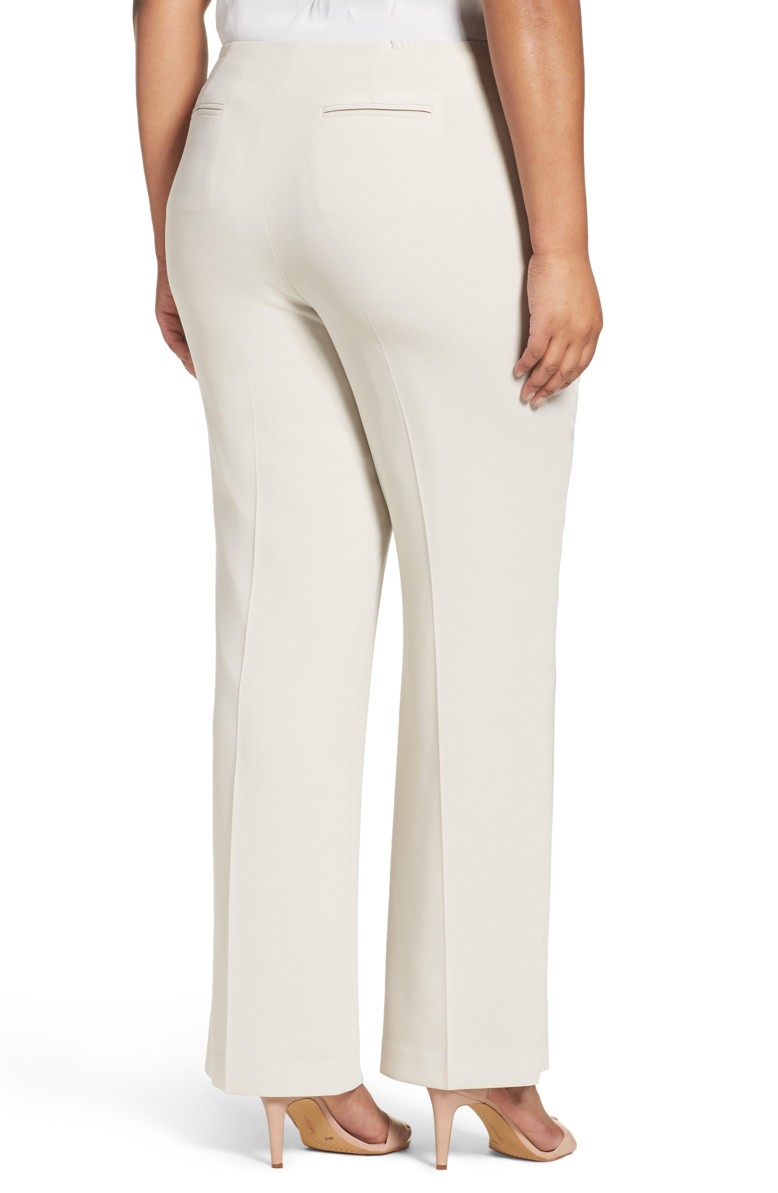 Alternate Image 2  - Louben Suit Pants (Plus Size)
