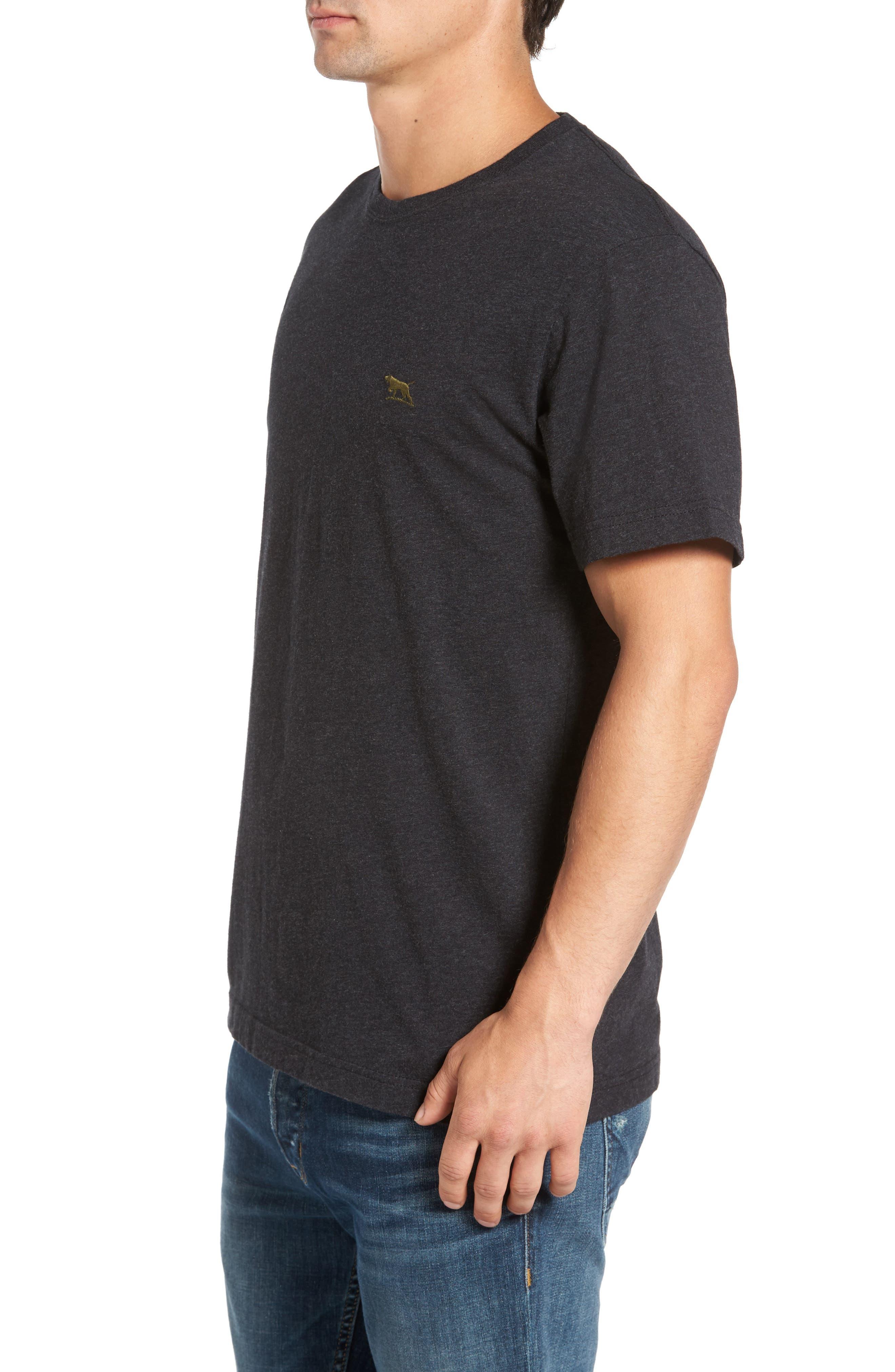 The Gunn T-Shirt,                             Alternate thumbnail 3, color,                             Charcoal