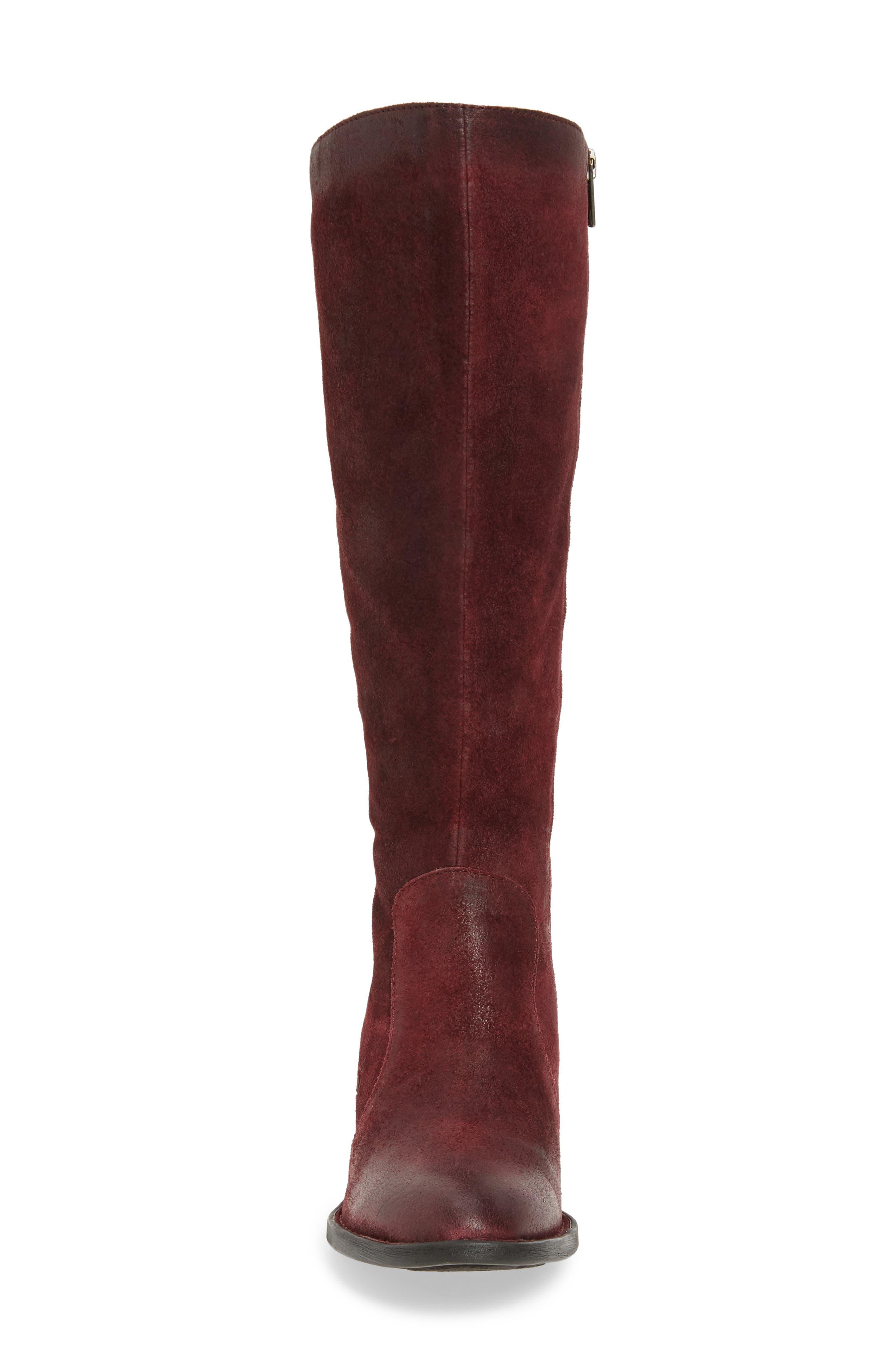 Alternate Image 4  - Børn Felicia Knee High Boot (Women) (Regular & Wide Calf)