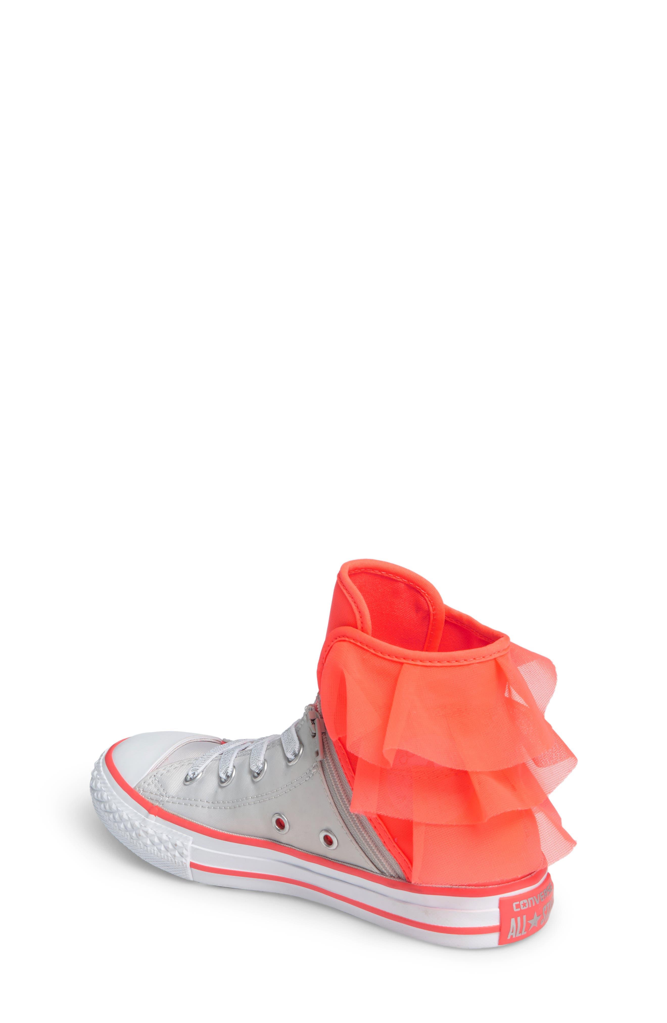 Alternate Image 2  - Converse Block Party High Top Sneaker (Baby, Walker, Toddler, Little Kid & Big Kid)
