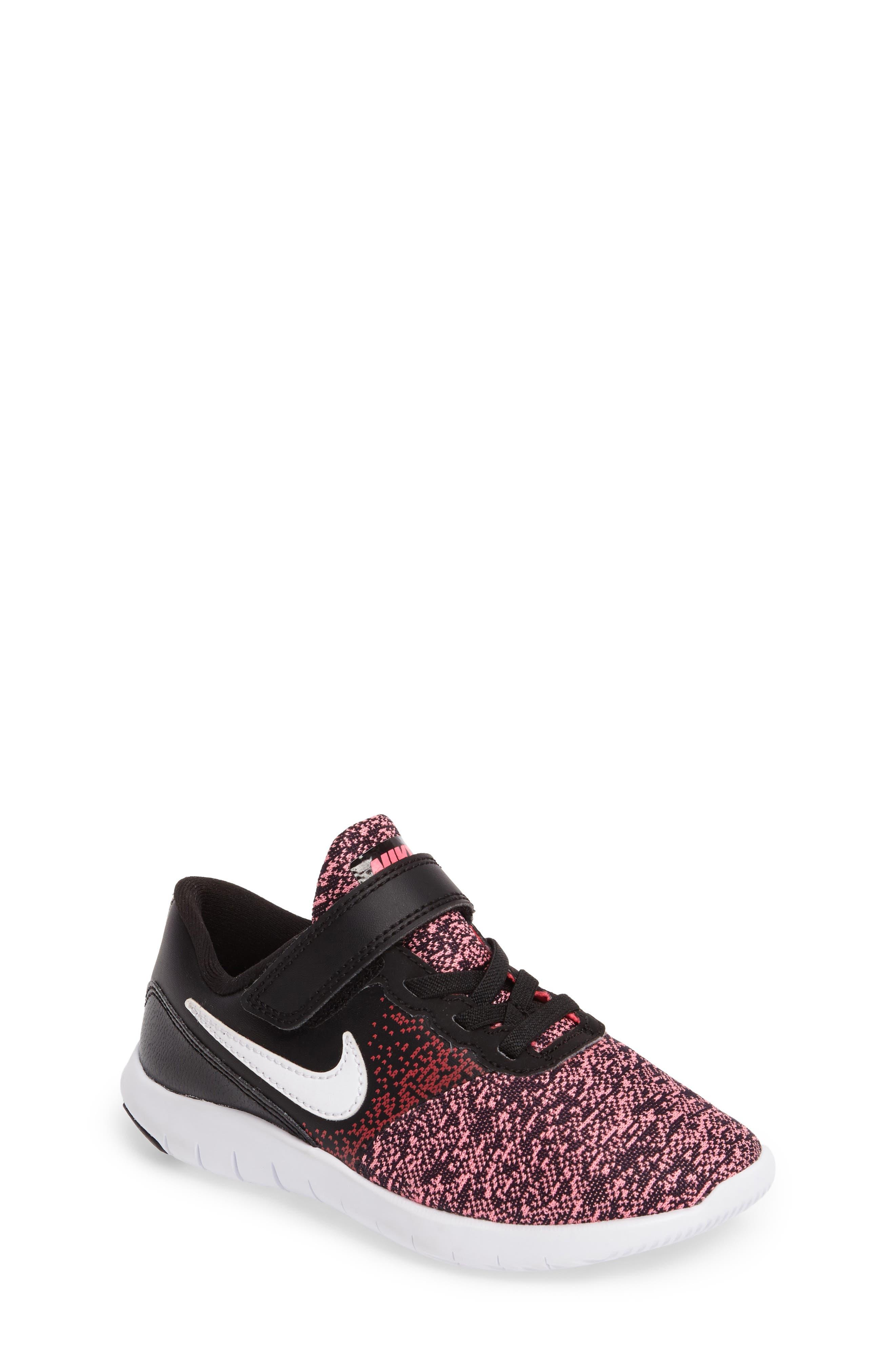 Alternate Image 1 Selected - Nike Flex Contact Running Shoe (Toddler & Little Kid) (Regular Retail Price: $53.00)