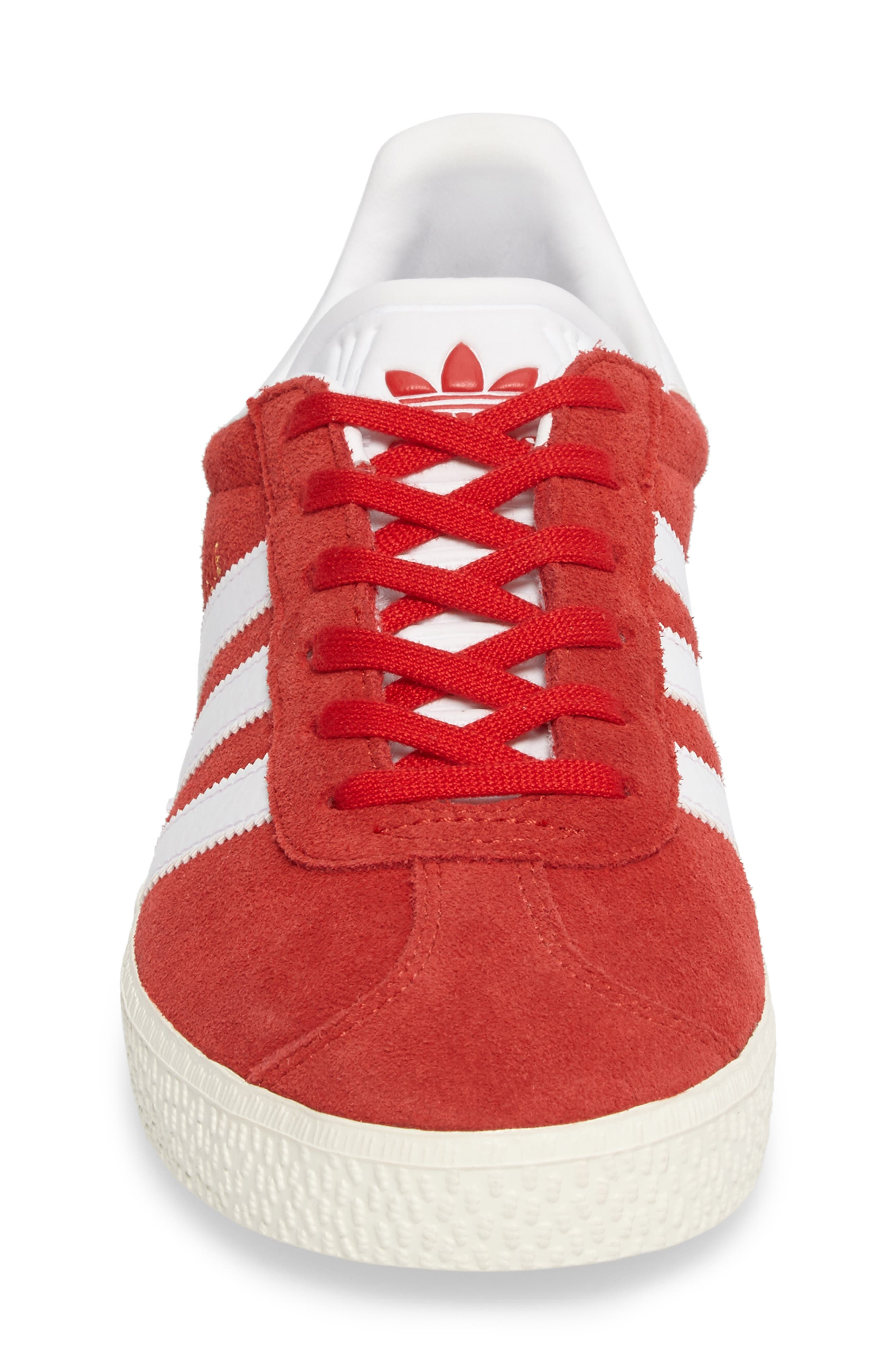 Alternate Image 4  - adidas Gazelle Sneaker (Big Kid)