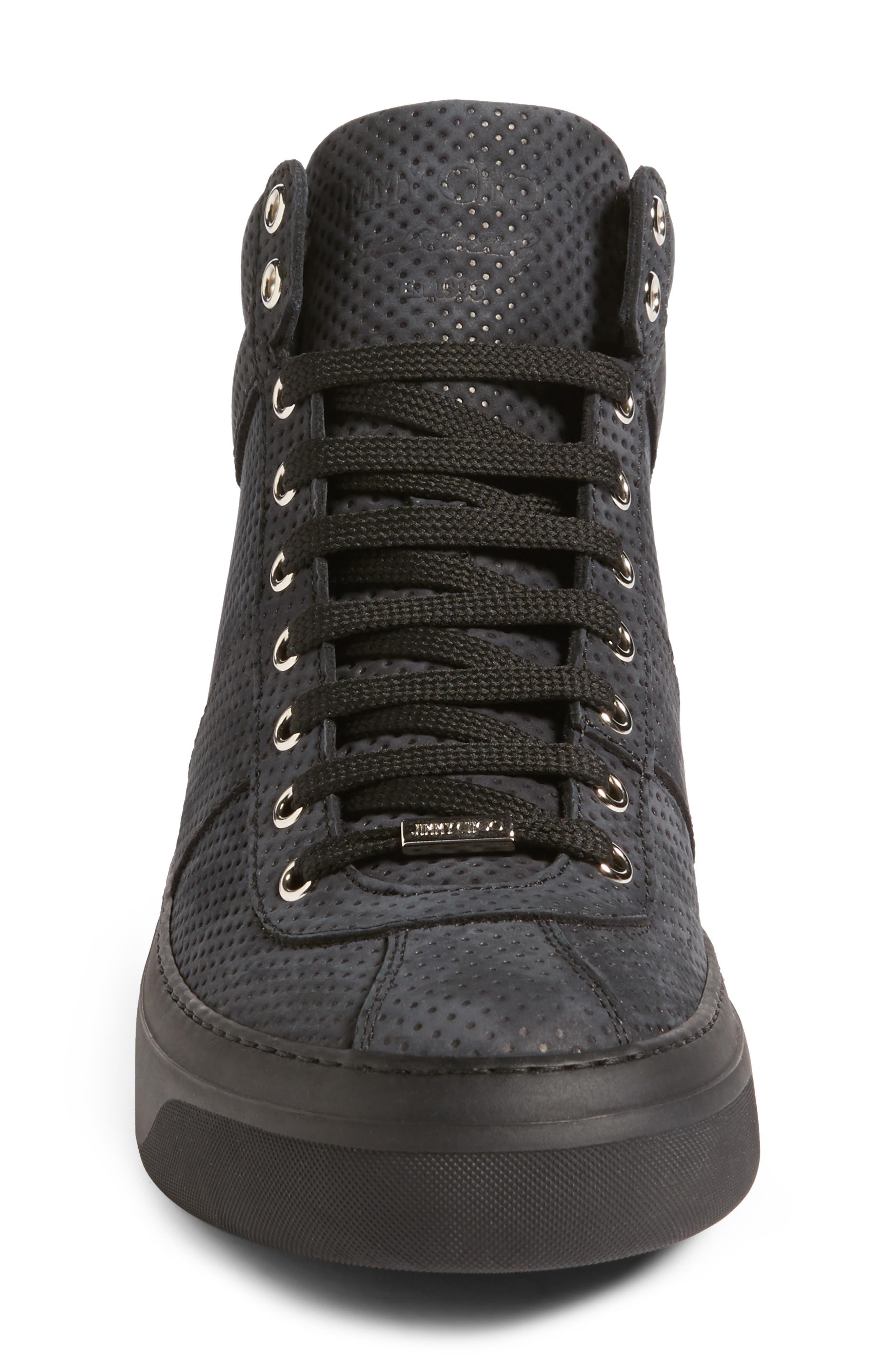 Belgravi Sneaker,                             Alternate thumbnail 4, color,                             Black/ Steel