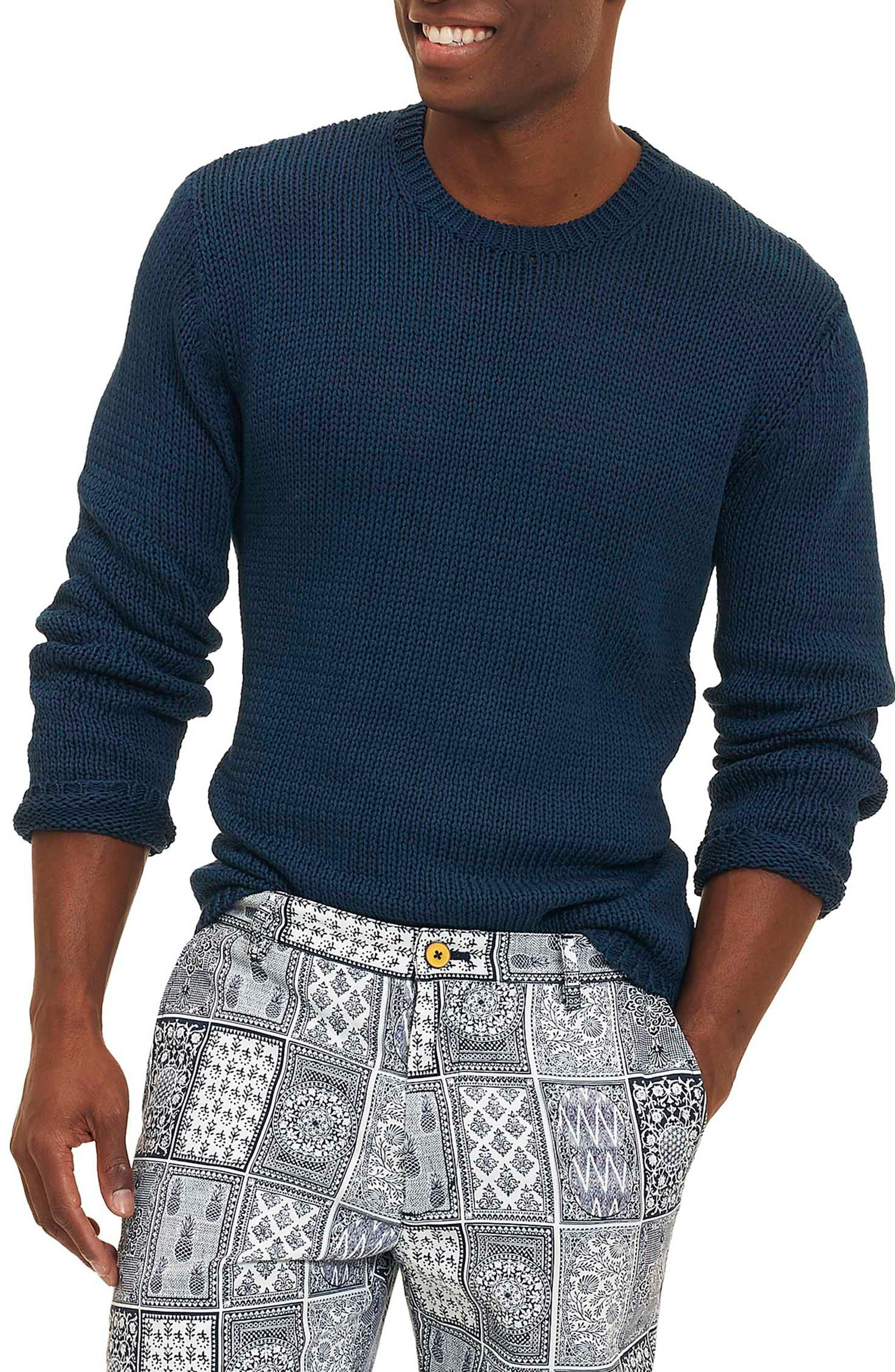 Keratons Sweater,                         Main,                         color, Blue