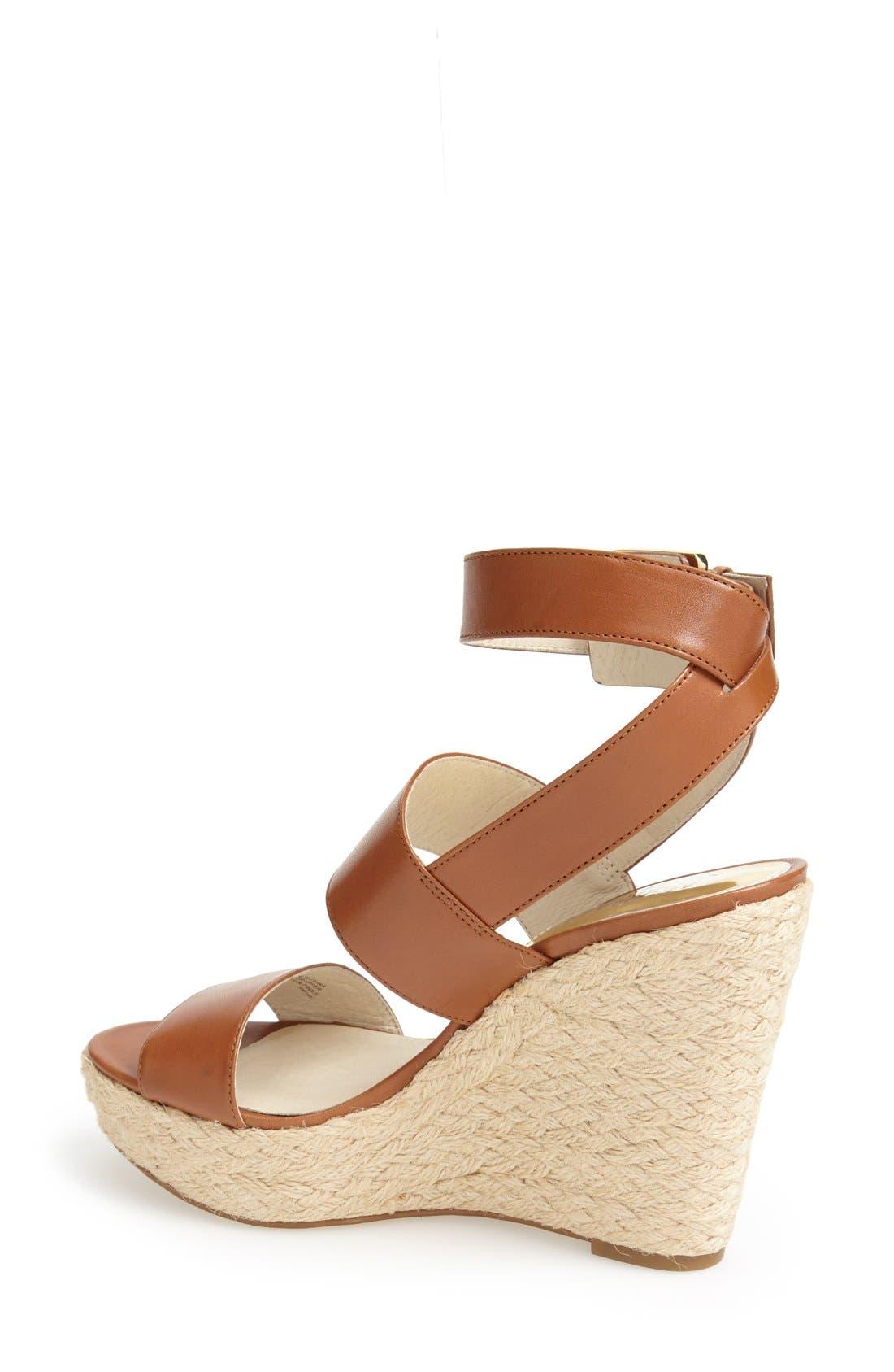 Alternate Image 2  - MICHAEL Michael Kors 'Posey' Ankle Strap Espadrille Wedge Sandal (Women)