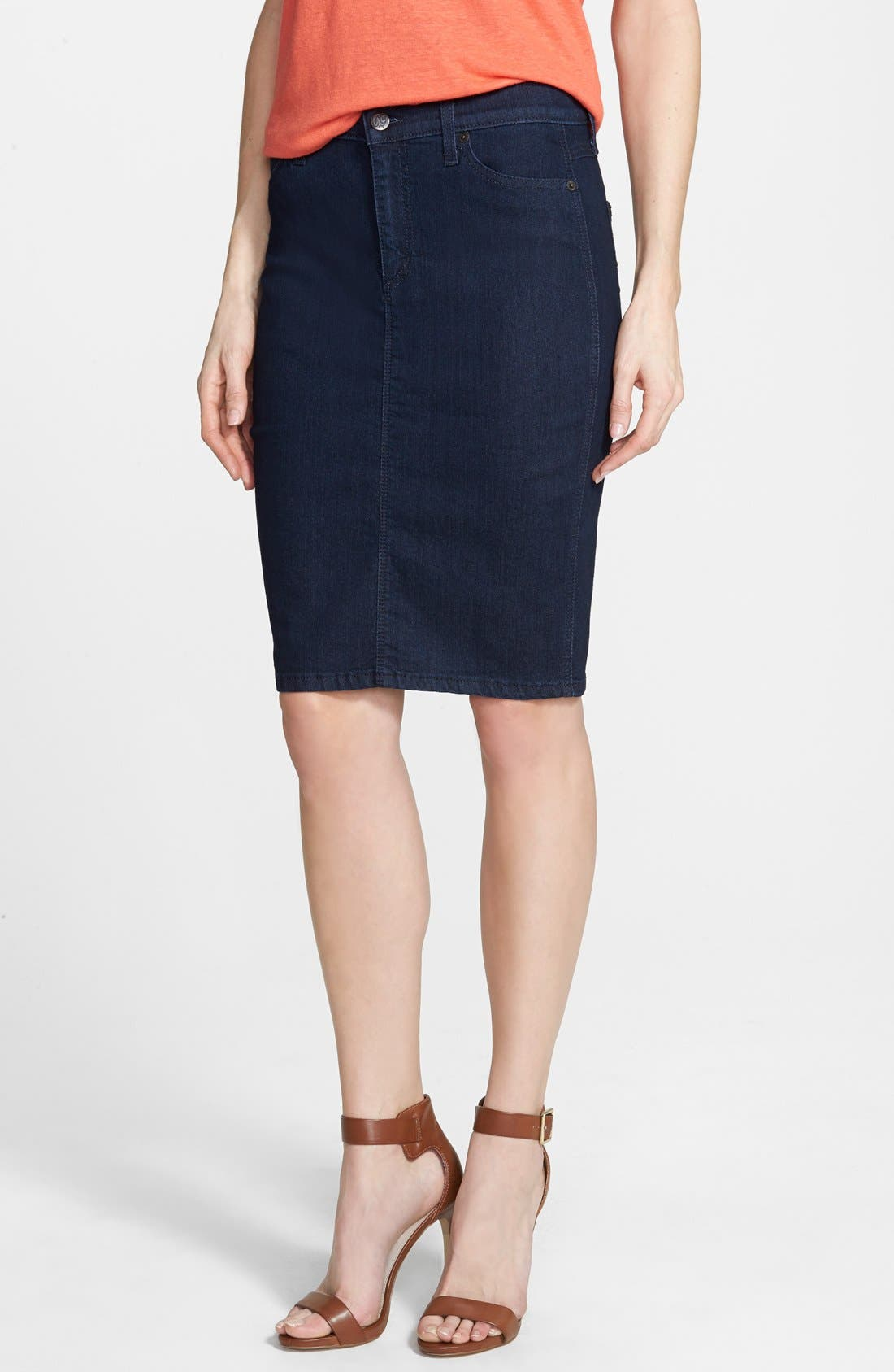 Main Image - Yoga Jeans by Second Denim Pencil Skirt