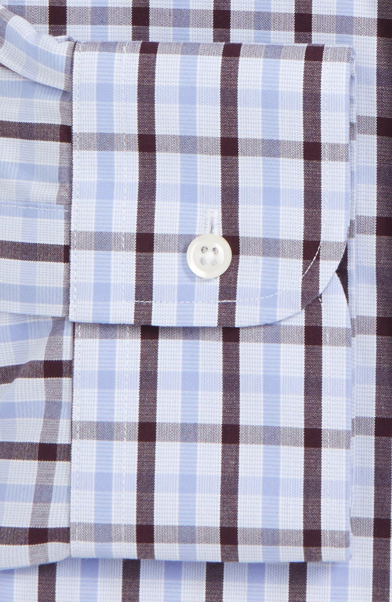 Alternate Image 2  - Nordstrom Men's Shop Smartcare™ Classic Fit Check Dress Shirt