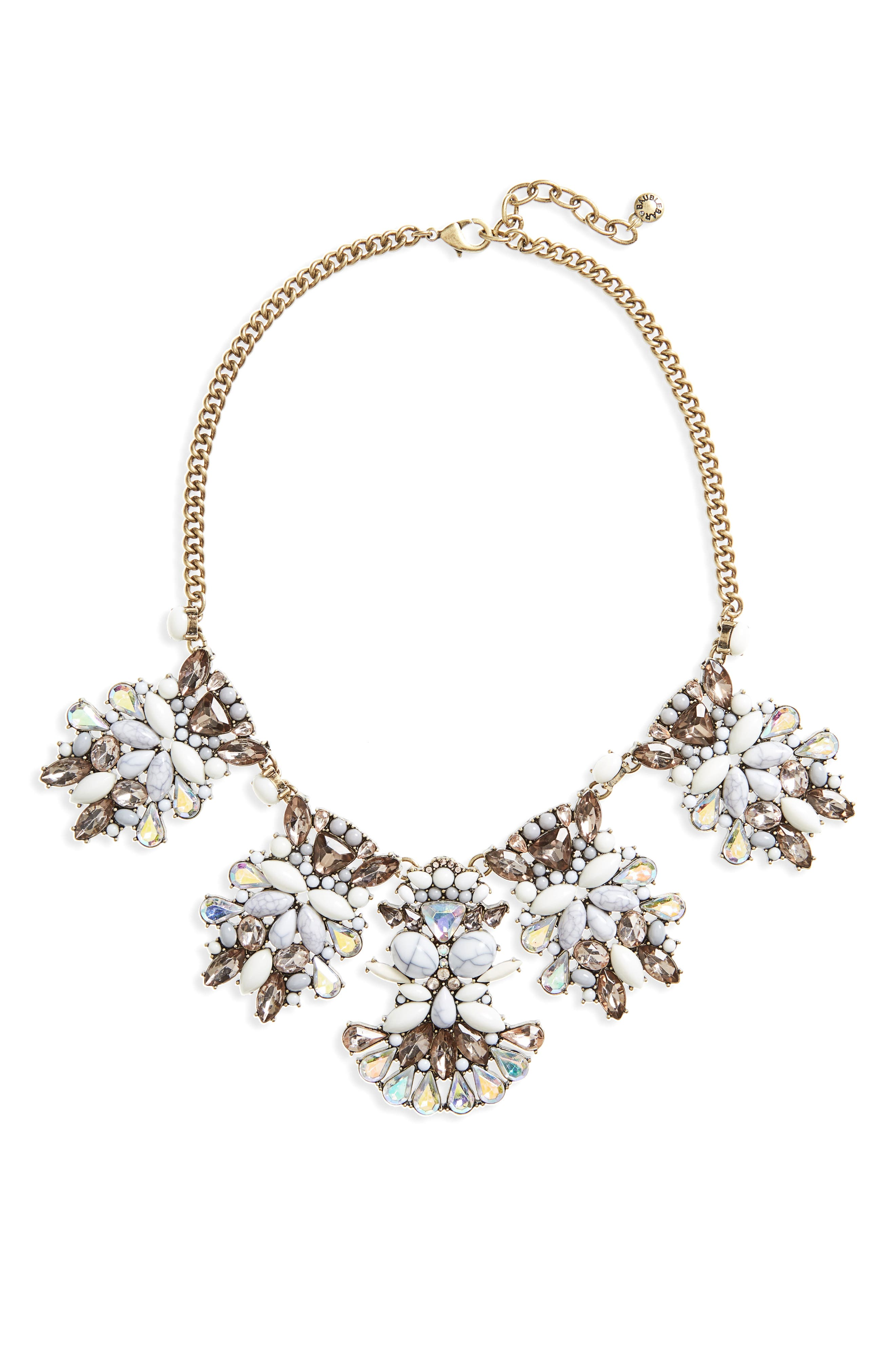 Alternate Image 1 Selected - BaubleBar Daisy Bib Necklace
