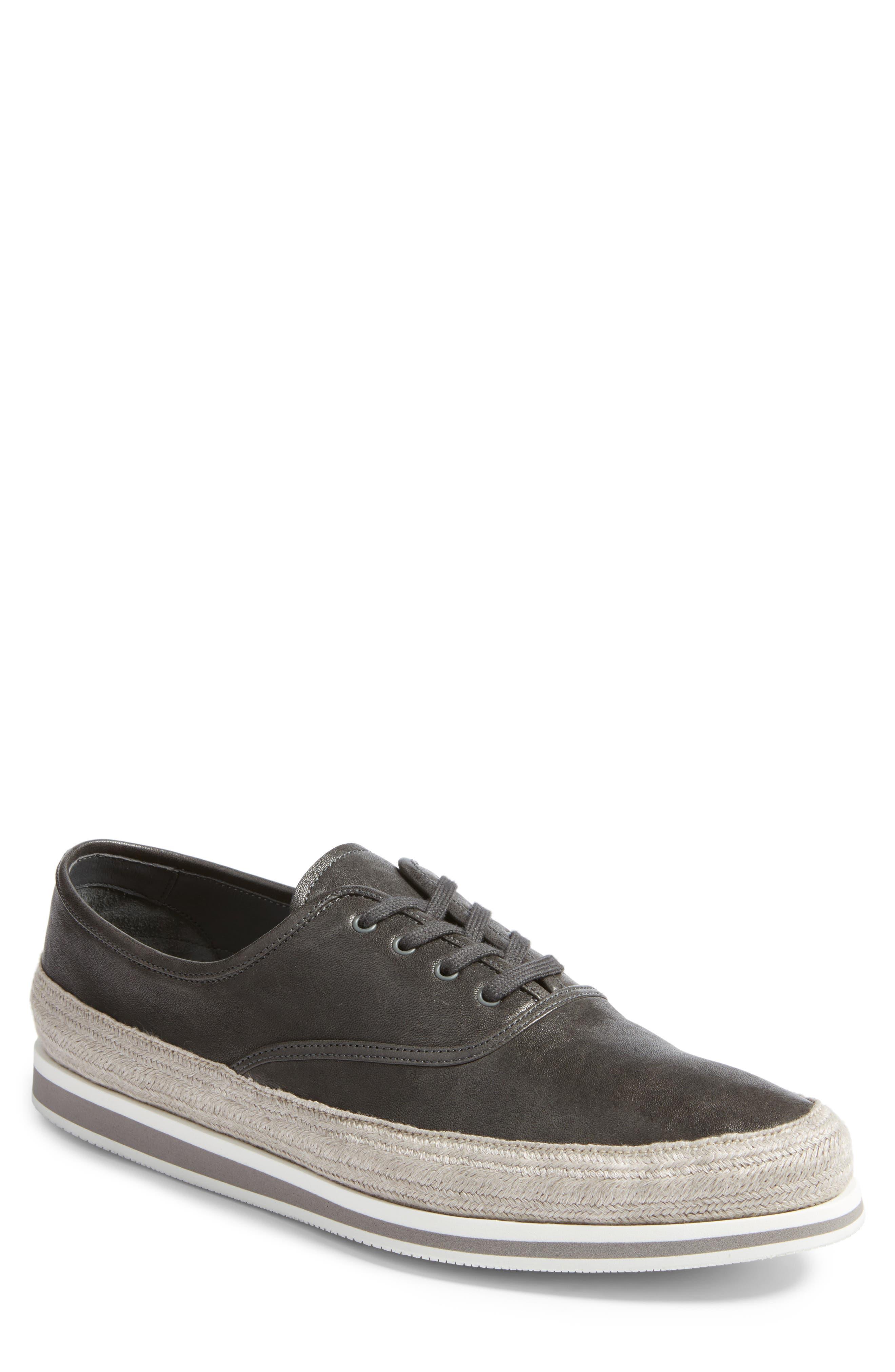 Prada Linea Rossa Espadrille Sneaker (Men)