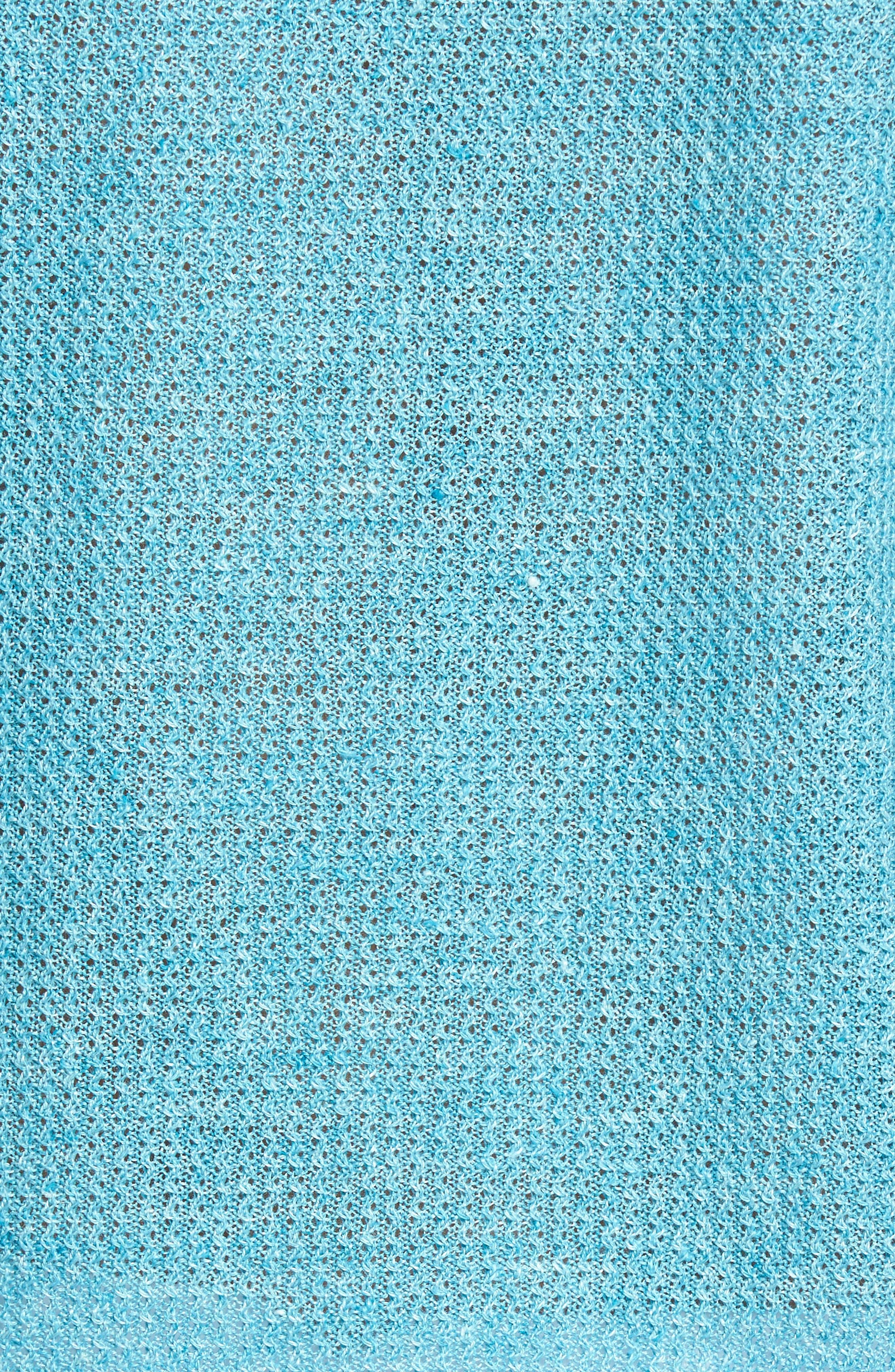 Chapman Linen Sweater,                             Alternate thumbnail 5, color,                             Aqua