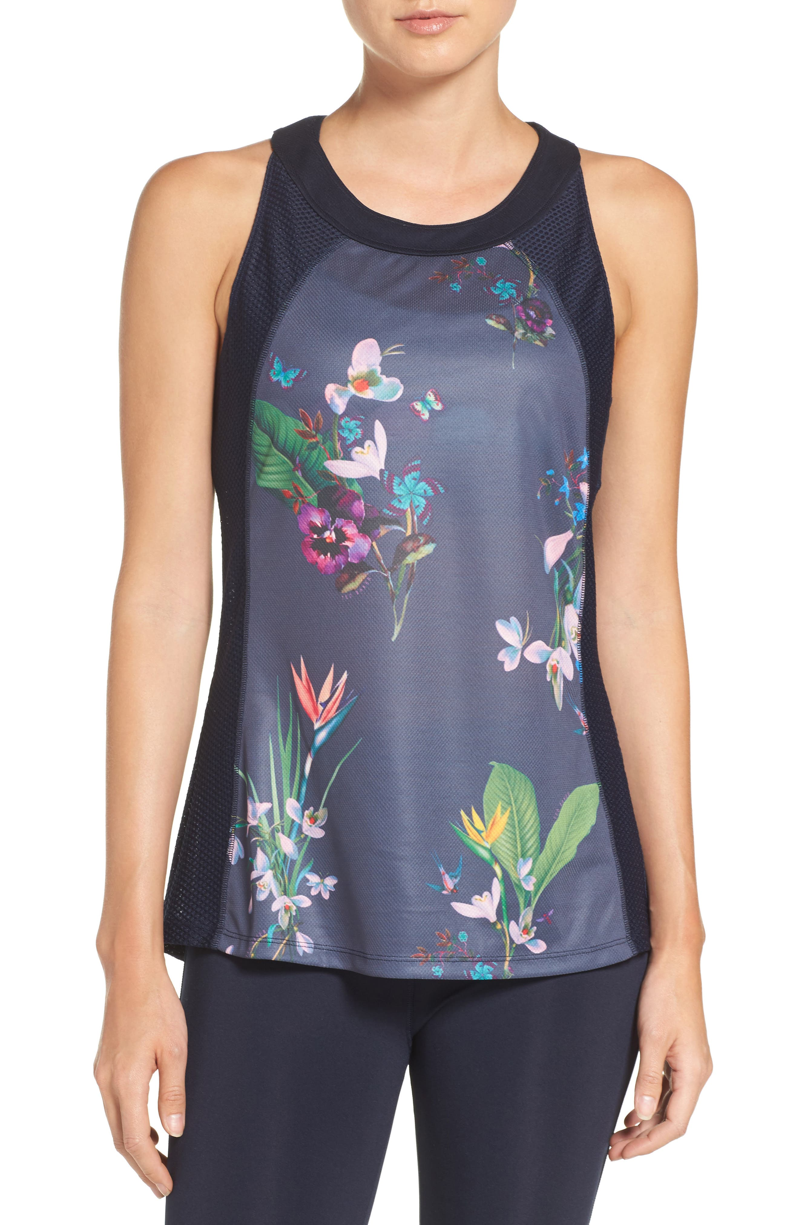 Alternate Image 1 Selected - Ted Baker London Tropical Oasis Tank