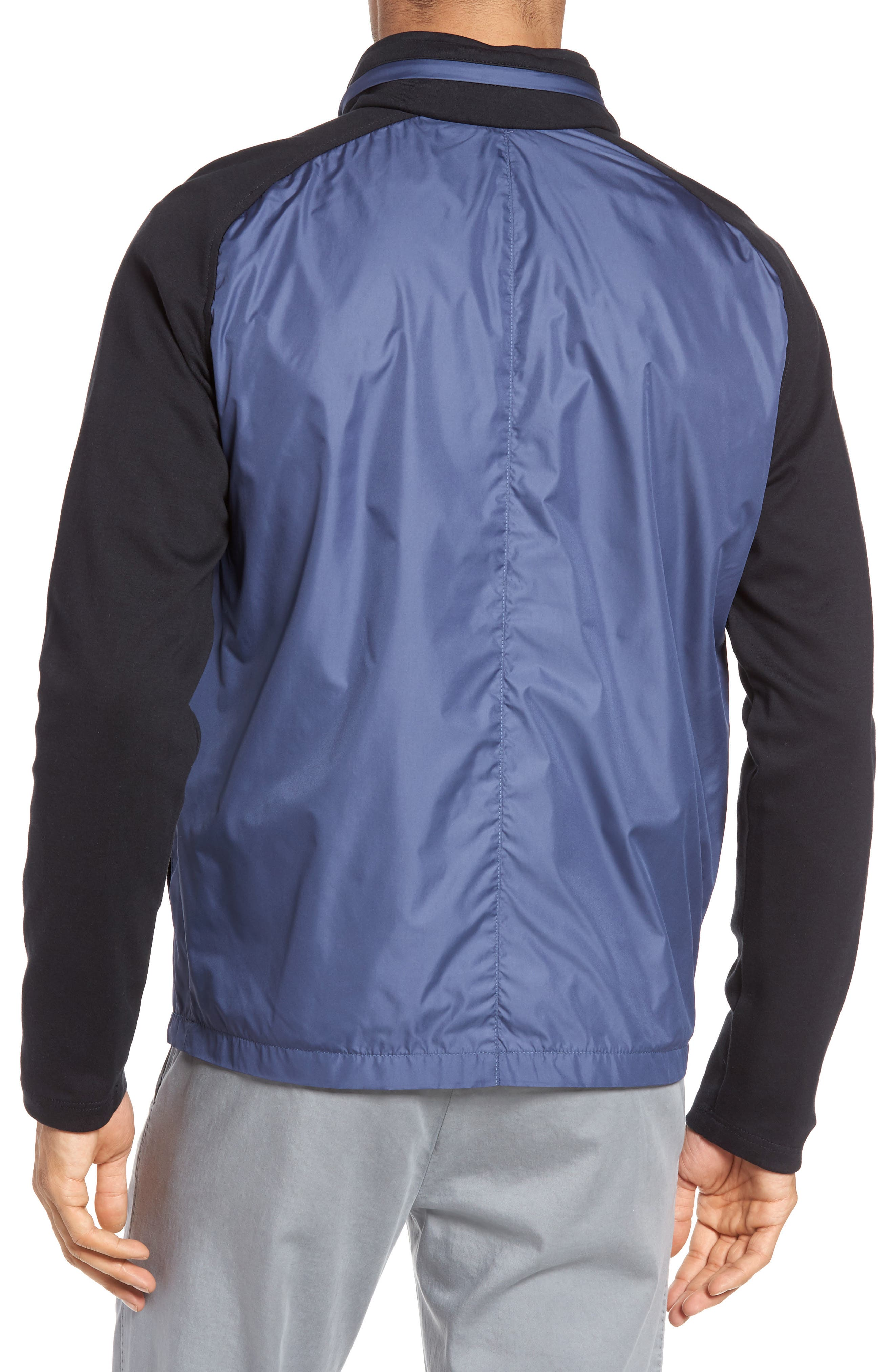 Alternate Image 2  - Zachary Prell Syconium Mixed Media Zip Front Jacket