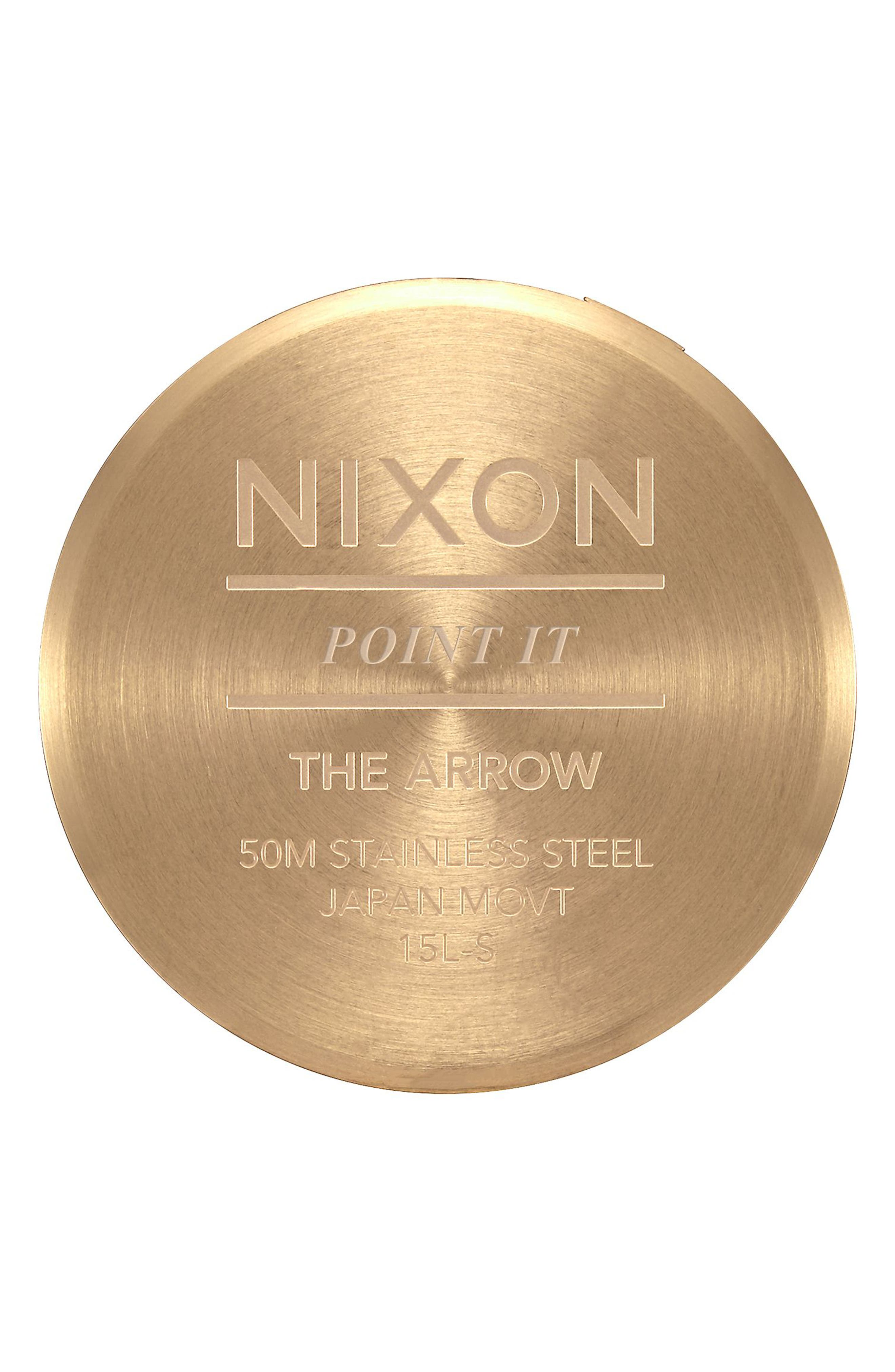 Alternate Image 4  - Nixon The Arrow Bracelet Watch, 38mm