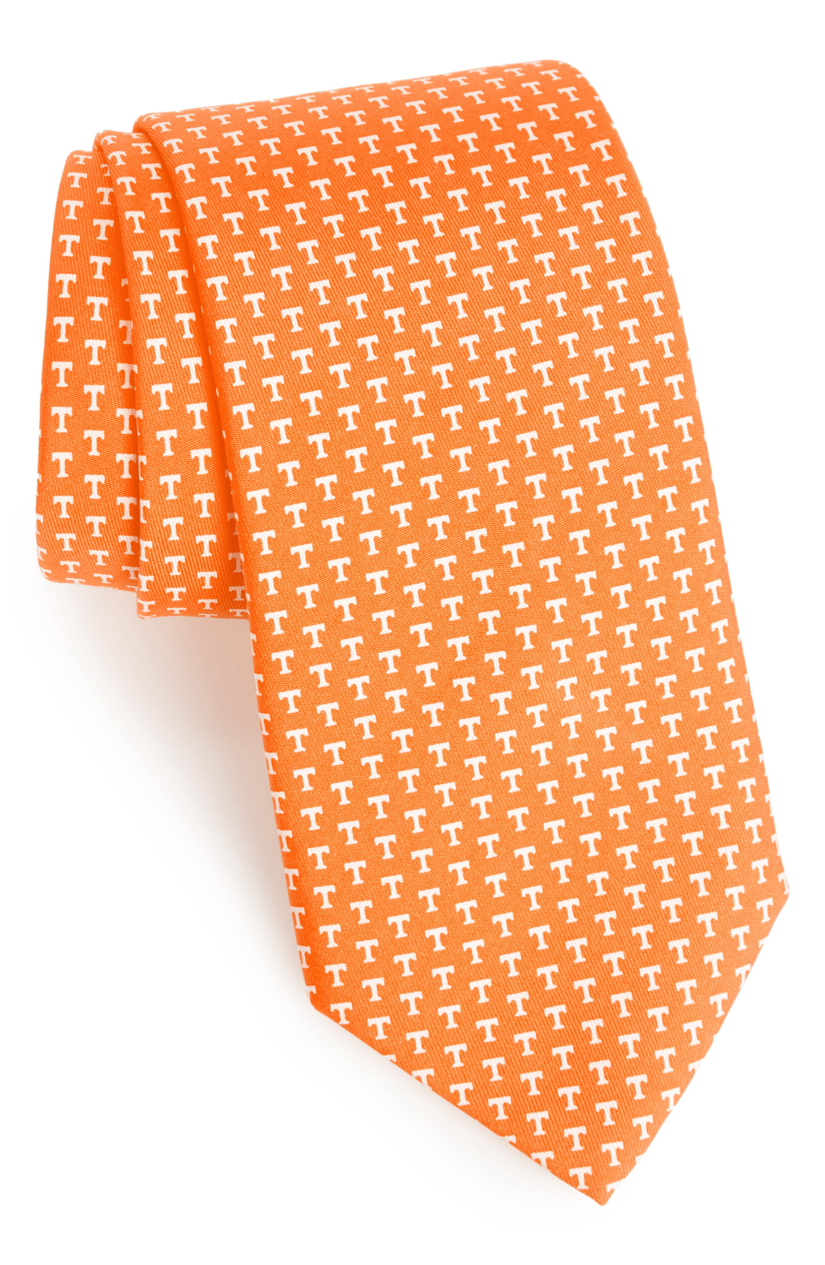 University of Tennessee Silk Tie,                             Main thumbnail 1, color,                             Bird Of Pa
