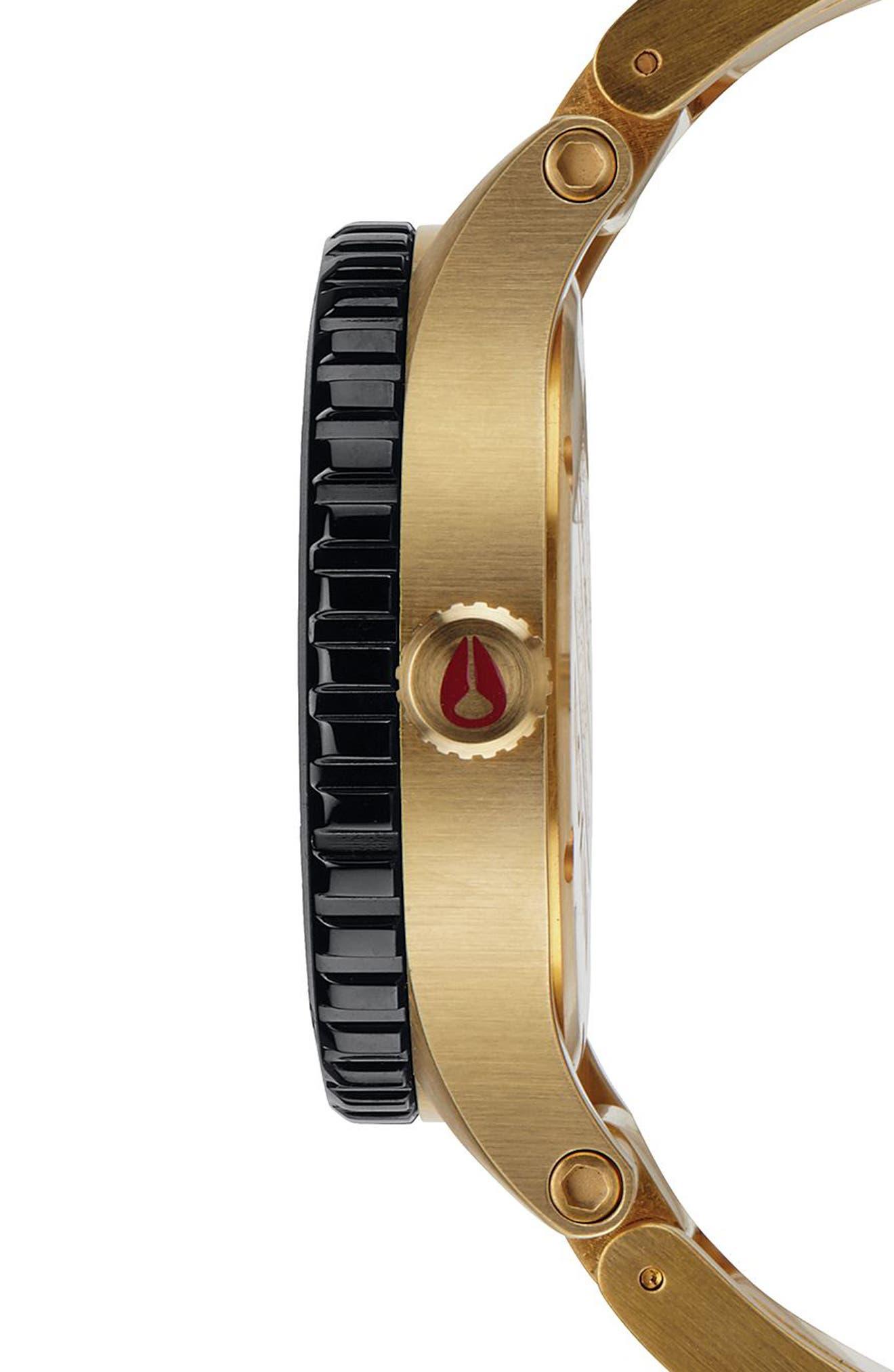 Alternate Image 3  - Nixon The Diplomat Bracelet Watch, 45mm