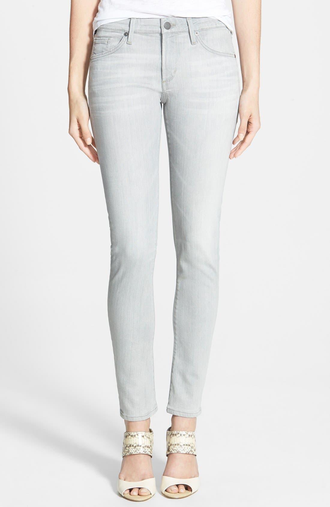'Arielle' Skinny Jeans,                             Main thumbnail 1, color,                             Vernet
