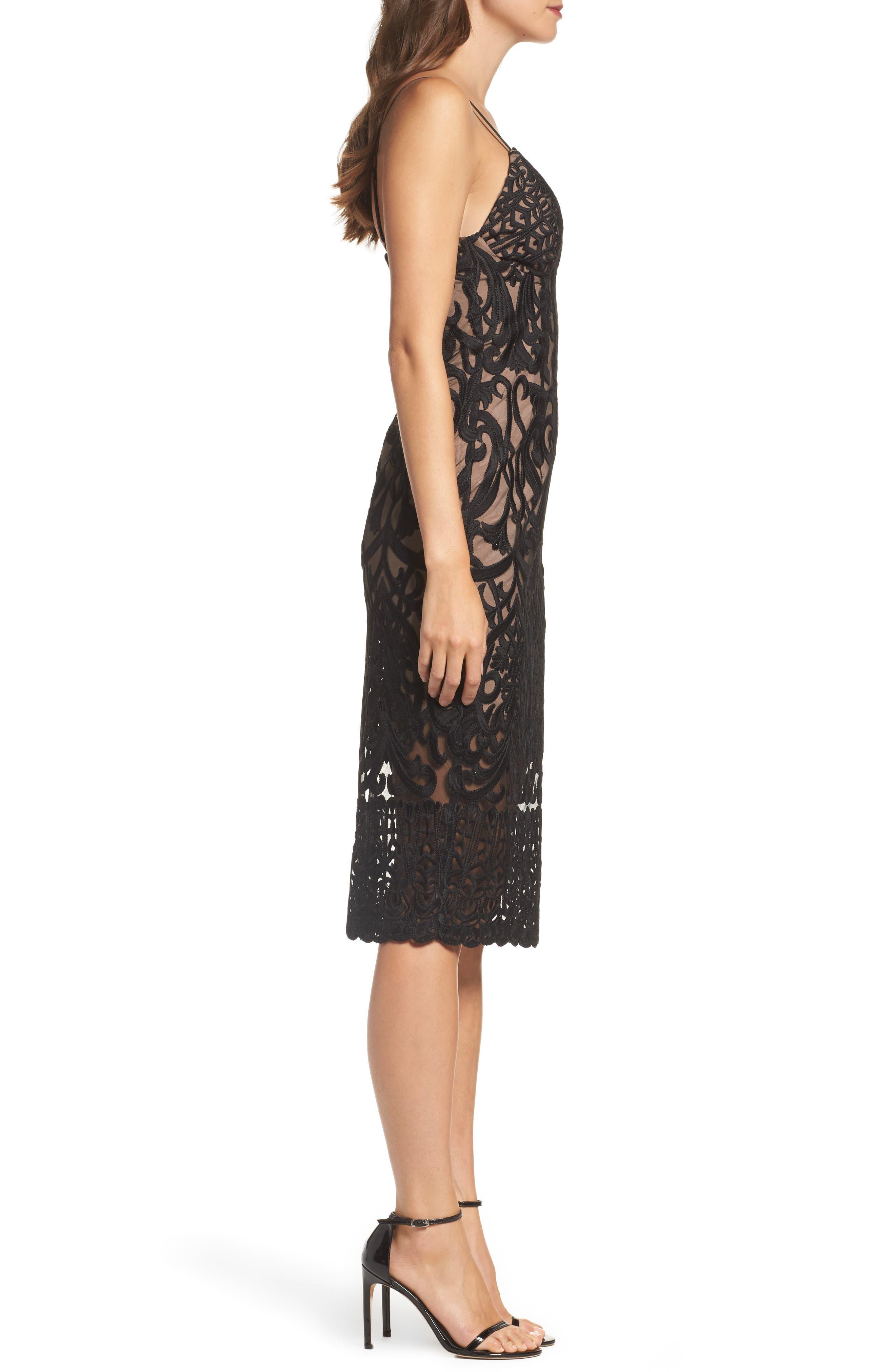Alternate Image 3  - Bardot Gia Lace Pencil Dress