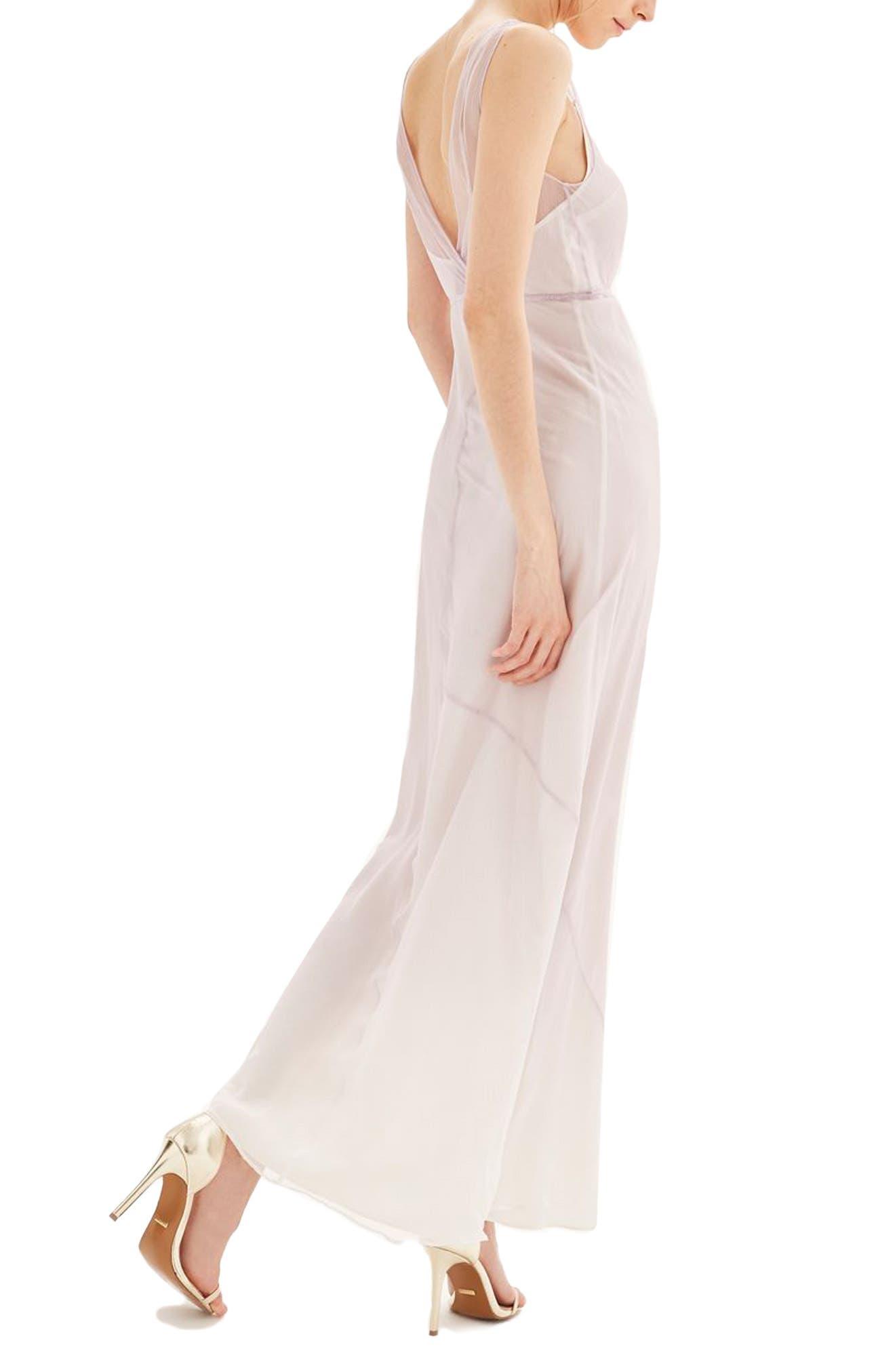 Alternate Image 4  - Topshop Bride Column Gown