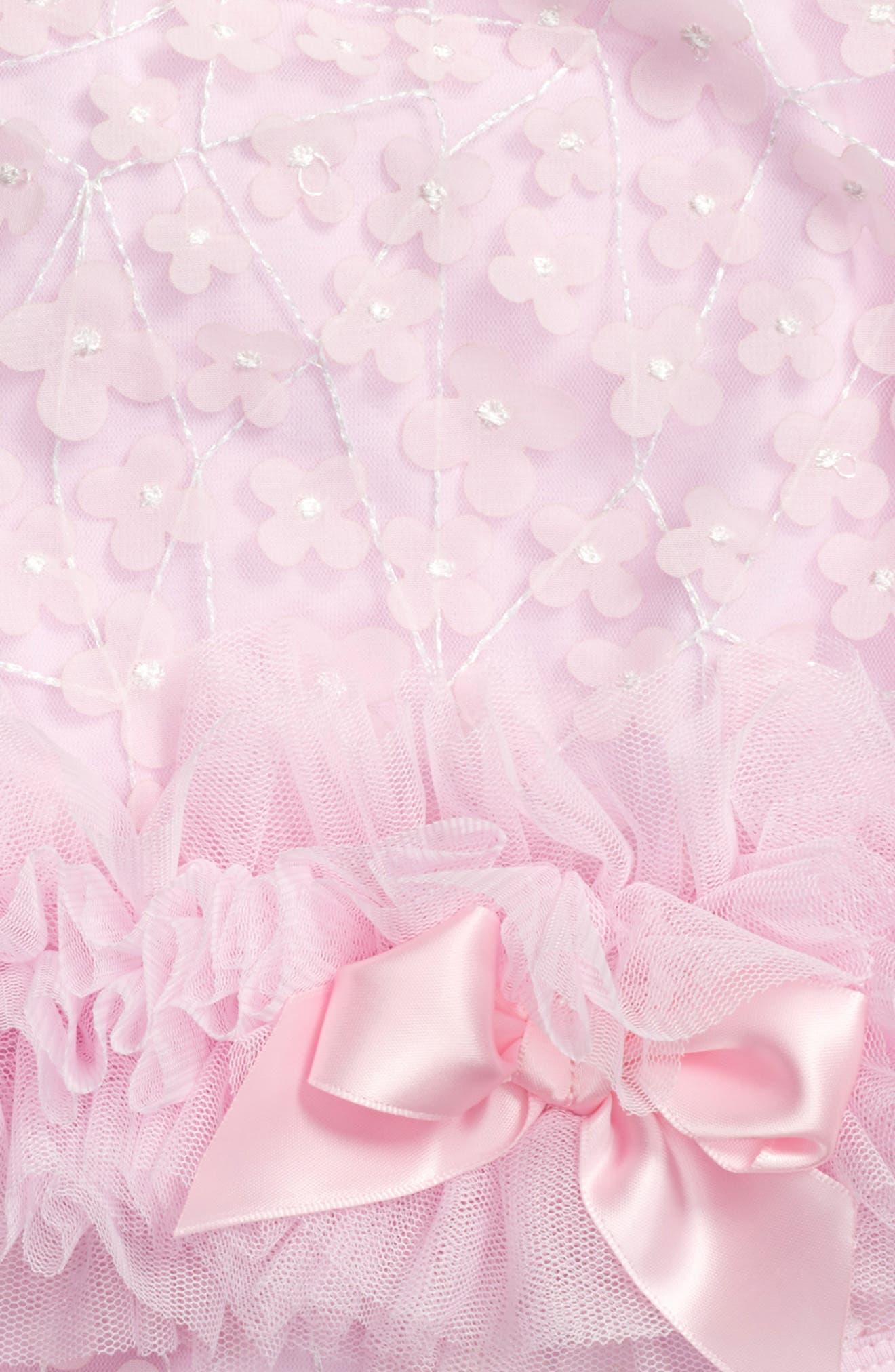 Alternate Image 2  - Popatu Flower Tutu Bodysuit (Baby Girls)