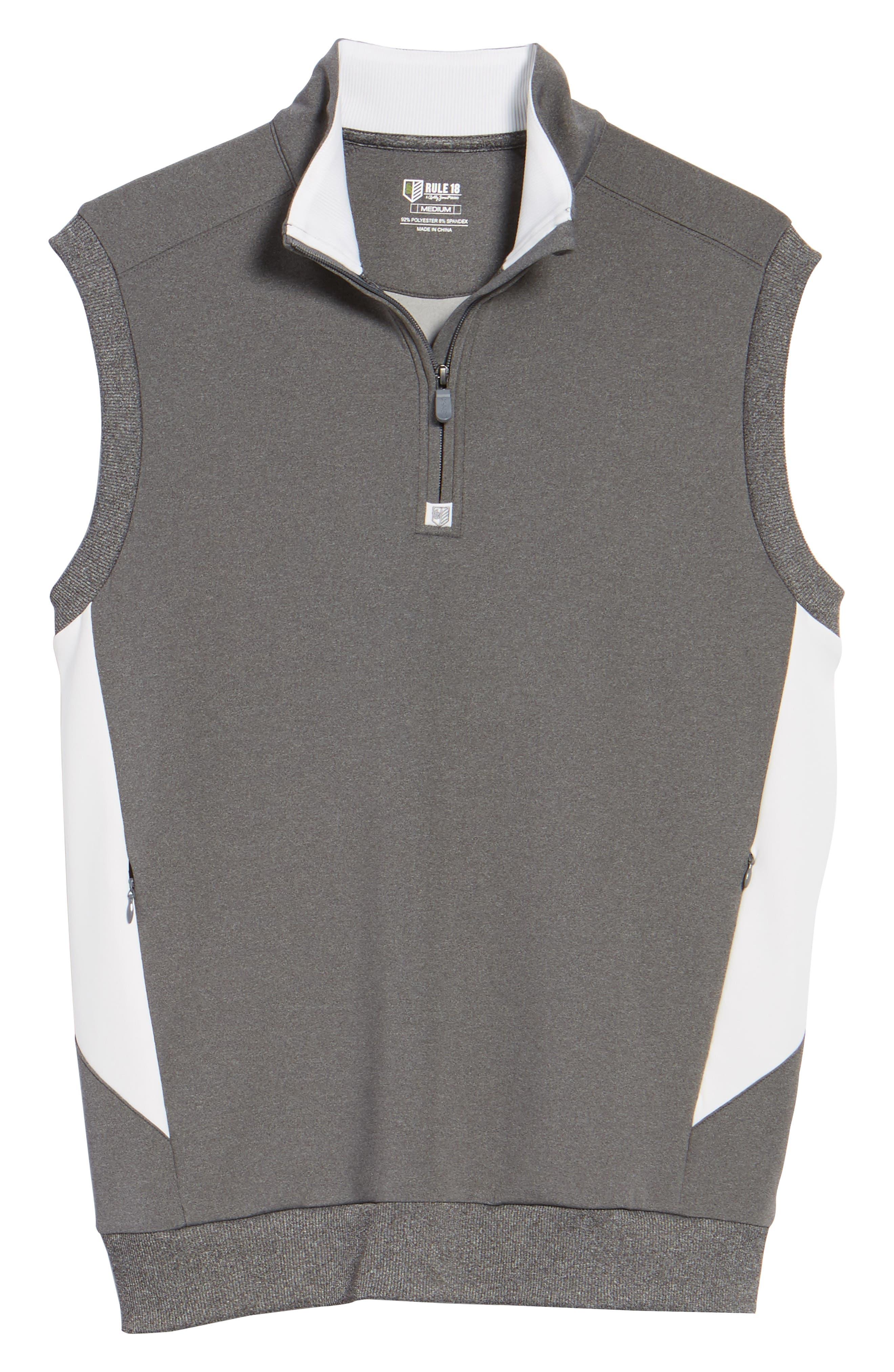Alternate Image 6  - Bobby Jones Rule 18 Tech Quarter Zip Vest