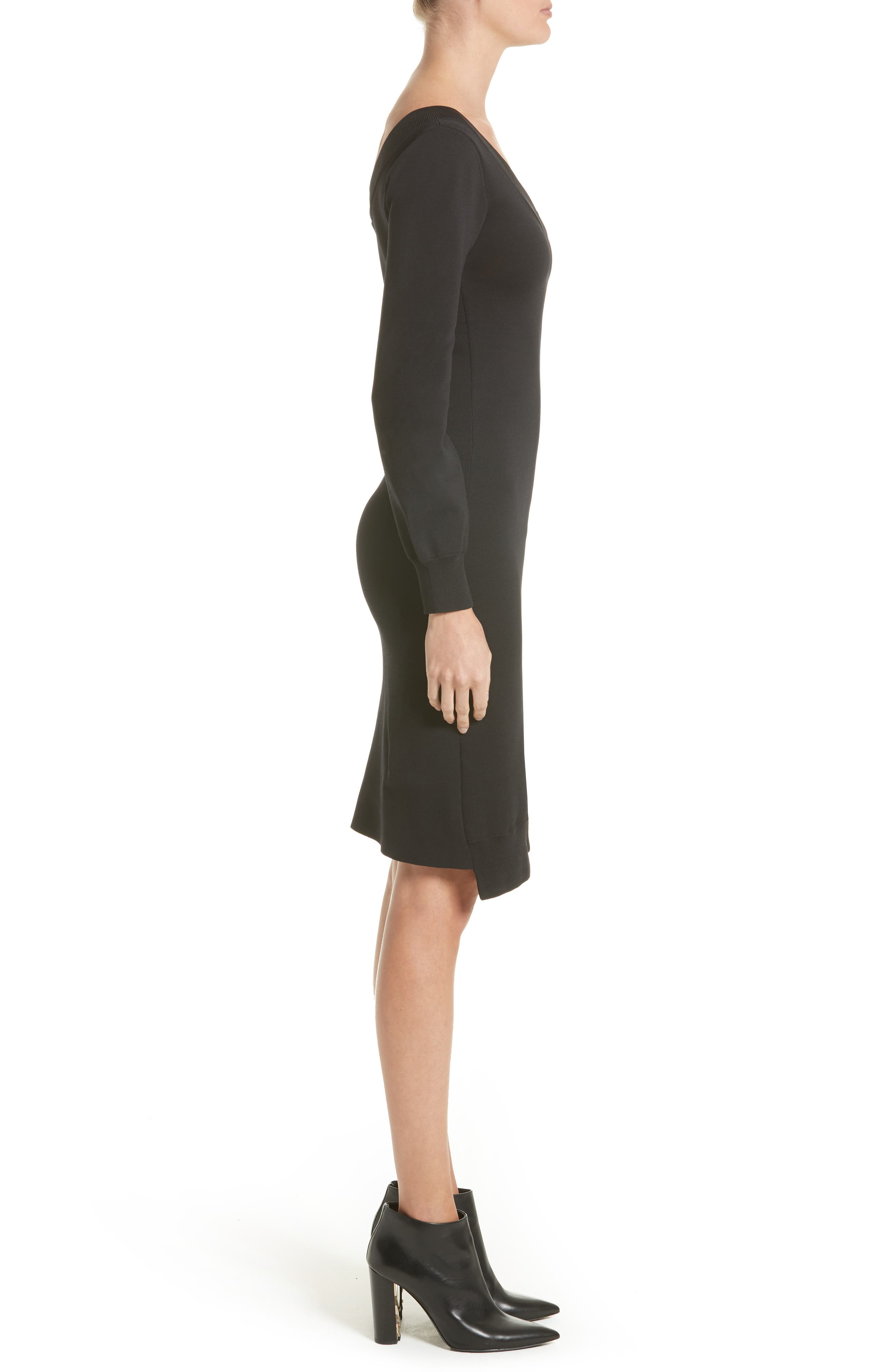 Alternate Image 5  - Burberry Marro Knit Dress