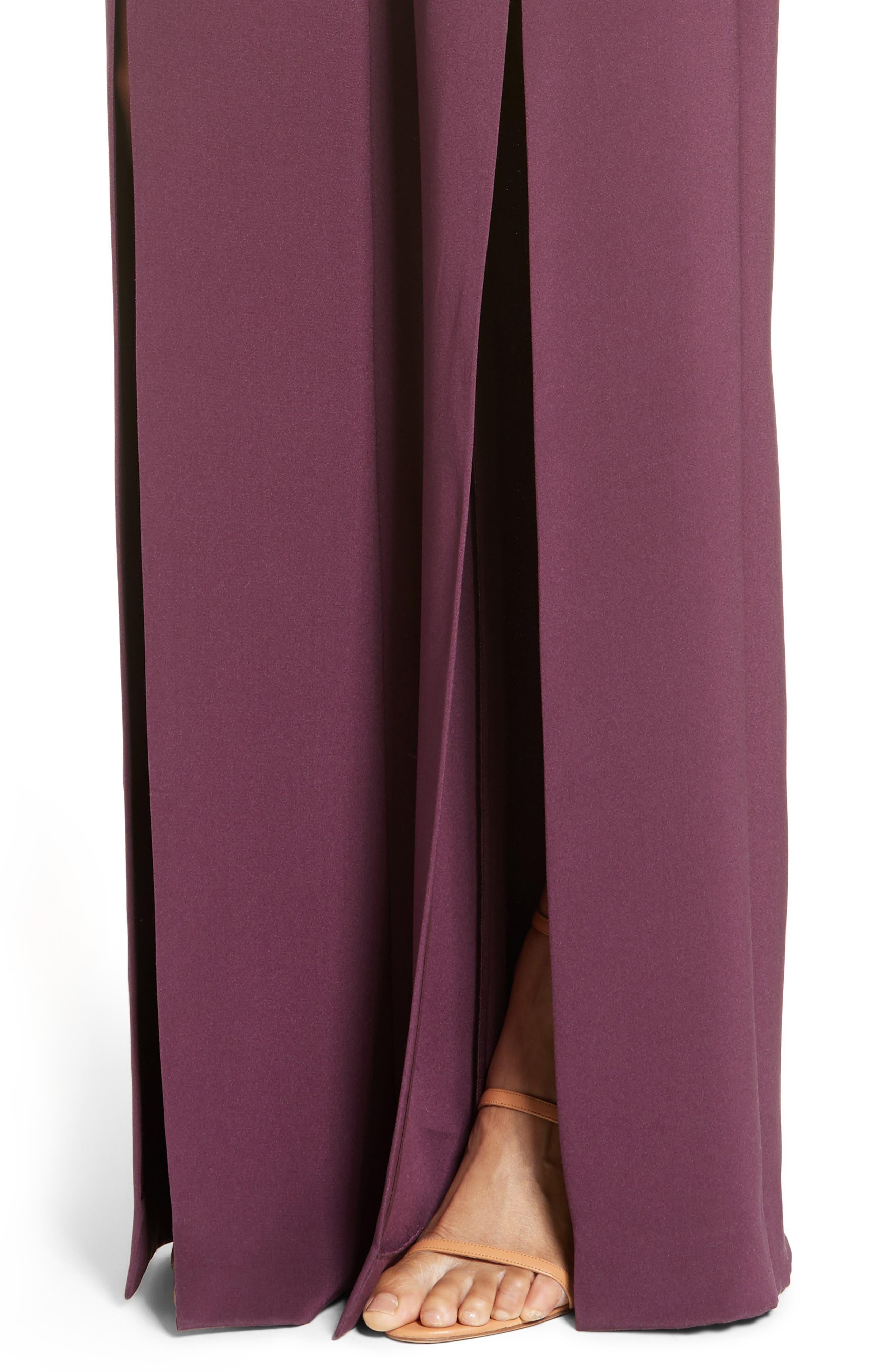 Alternate Image 5  - Cushnie et Ochs Slit Silk High Waisted Pants