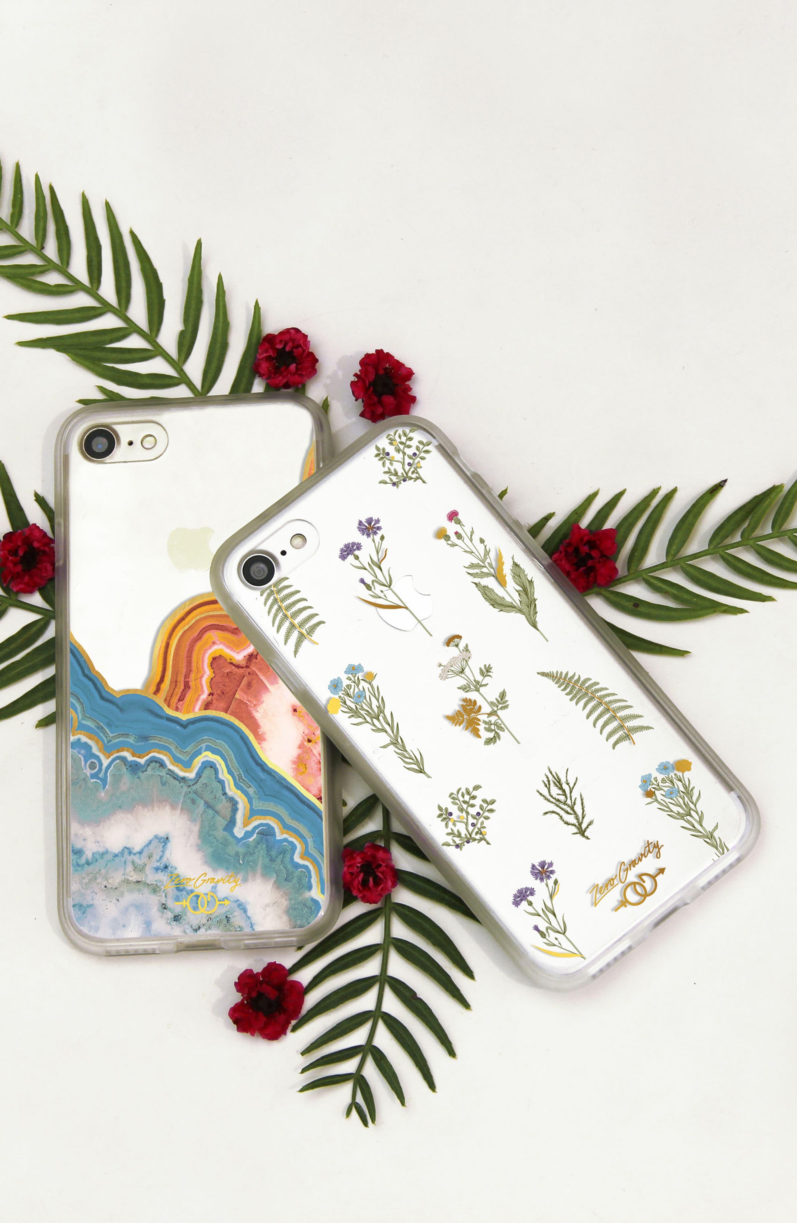 Native Plants iPhone 7 & 7 Plus Case,                             Alternate thumbnail 2, color,                             Green Multi