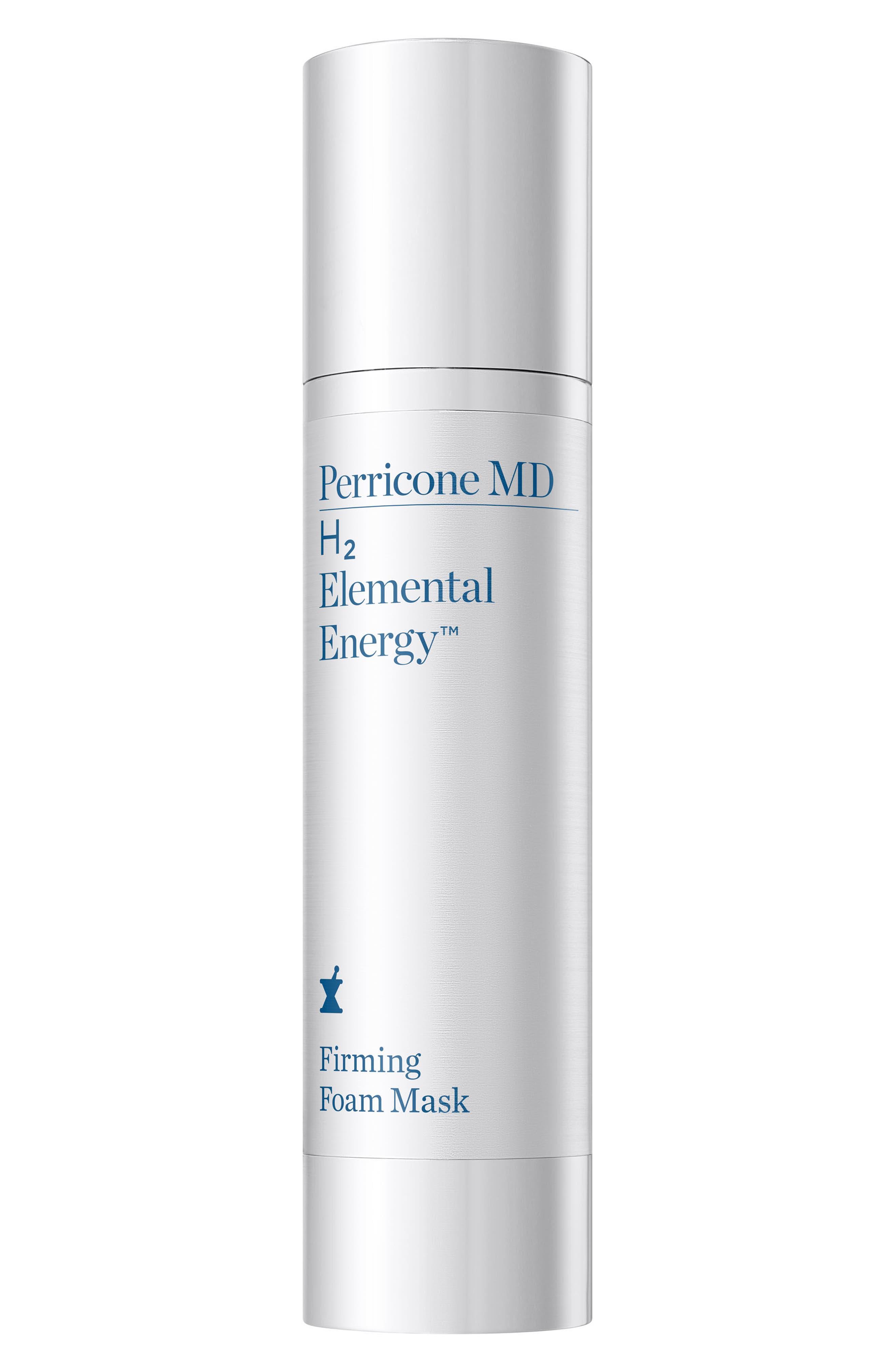 H2 Elemental Energy Firming Foam Mask,                         Main,                         color, No Color