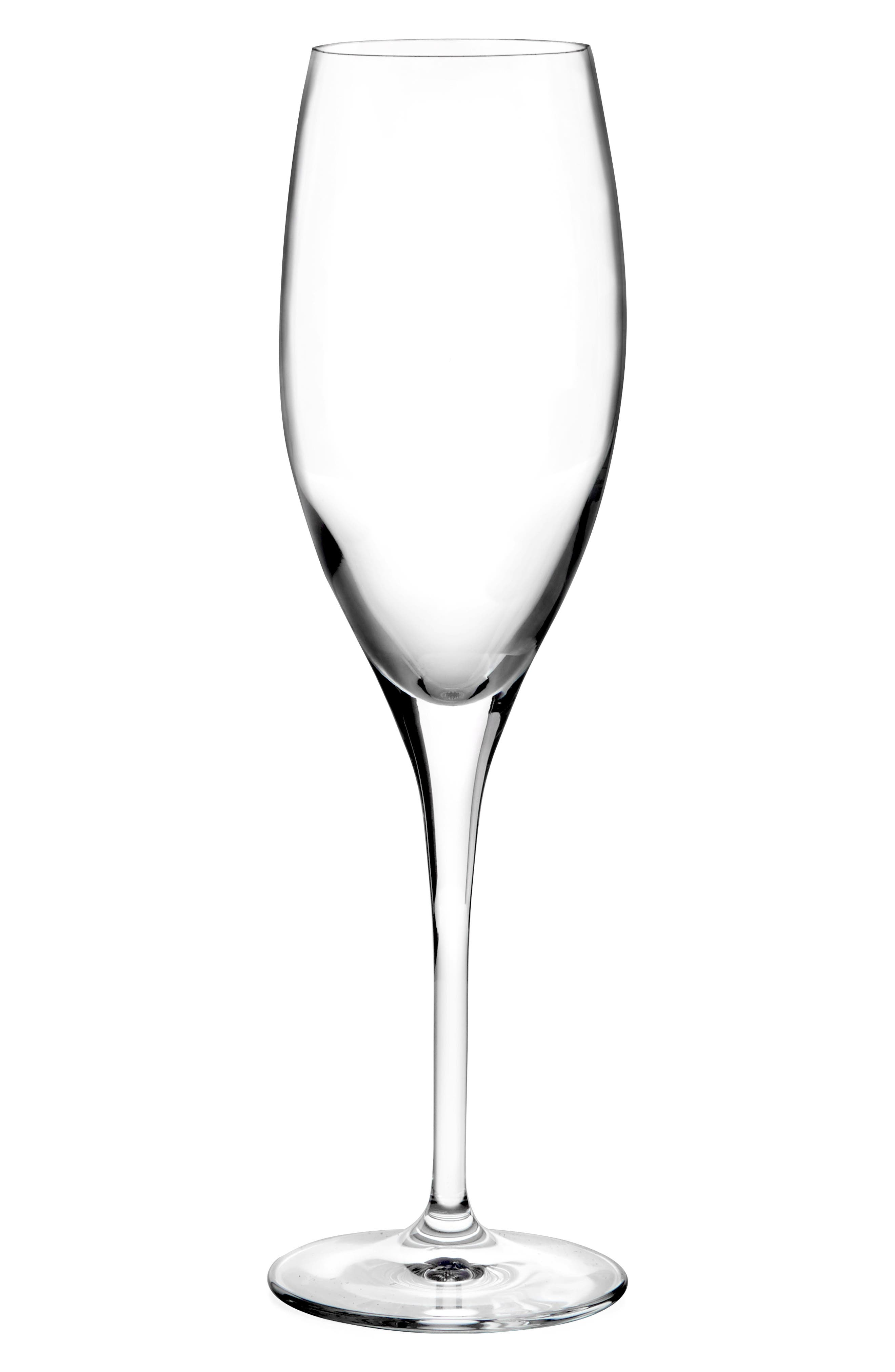 Heart to Heart Set of 2 Champagne Glasses,                         Main,                         color, Clear